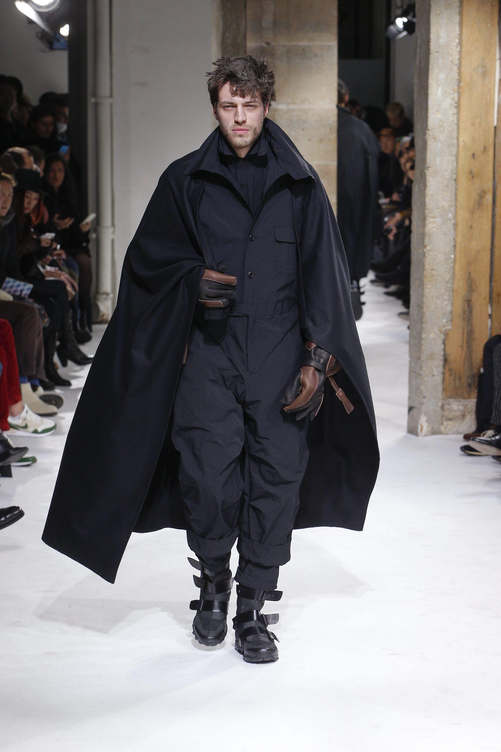 Menswear FW Yohji Yamamoto 2017