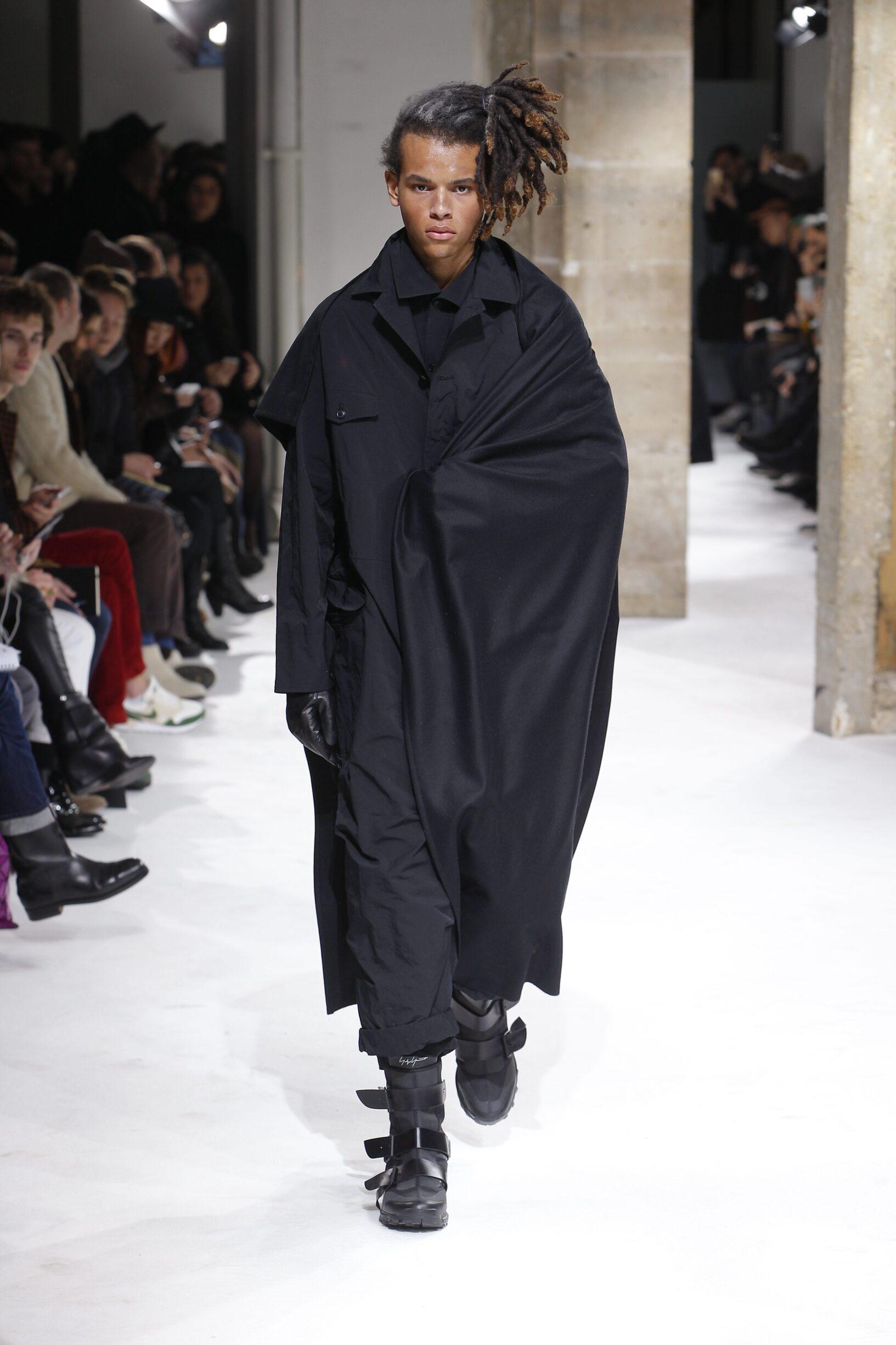 Menswear Winter Yohji Yamamoto 2017