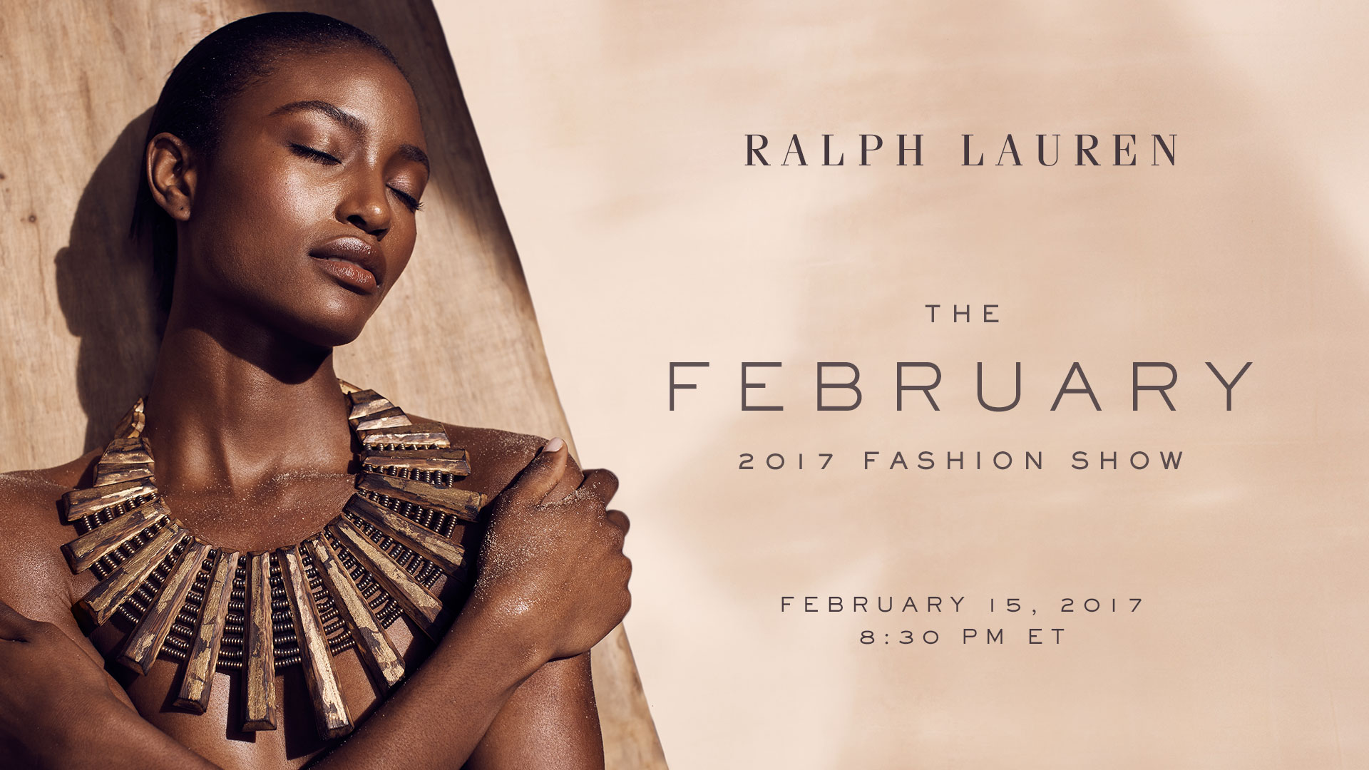 Ralph Lauren The February 2017 Fashion Show Live Streaming New York 15th January 8.30 Pm Est