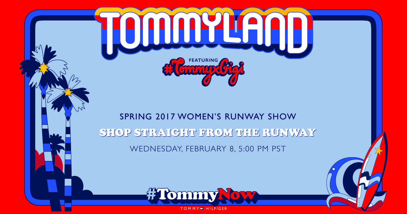 Tommy Hilfiger Spring 2017 Fashion Show Live Streaming Los Angeles