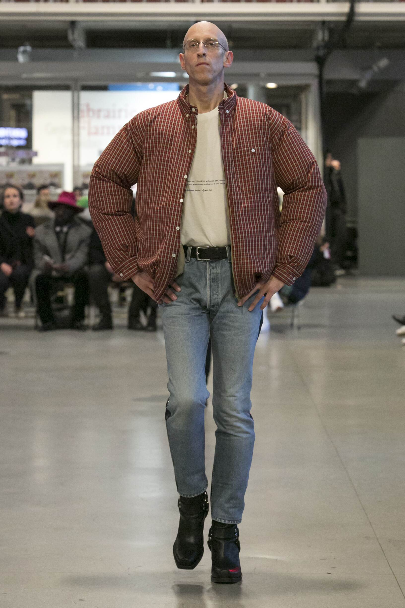 Vetements Man Winter 2017 Catwalk