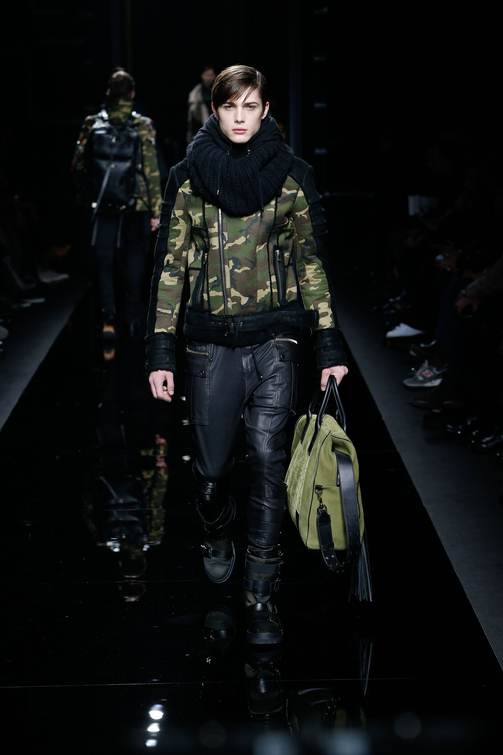 Winter 2017 Man Trends Balmain