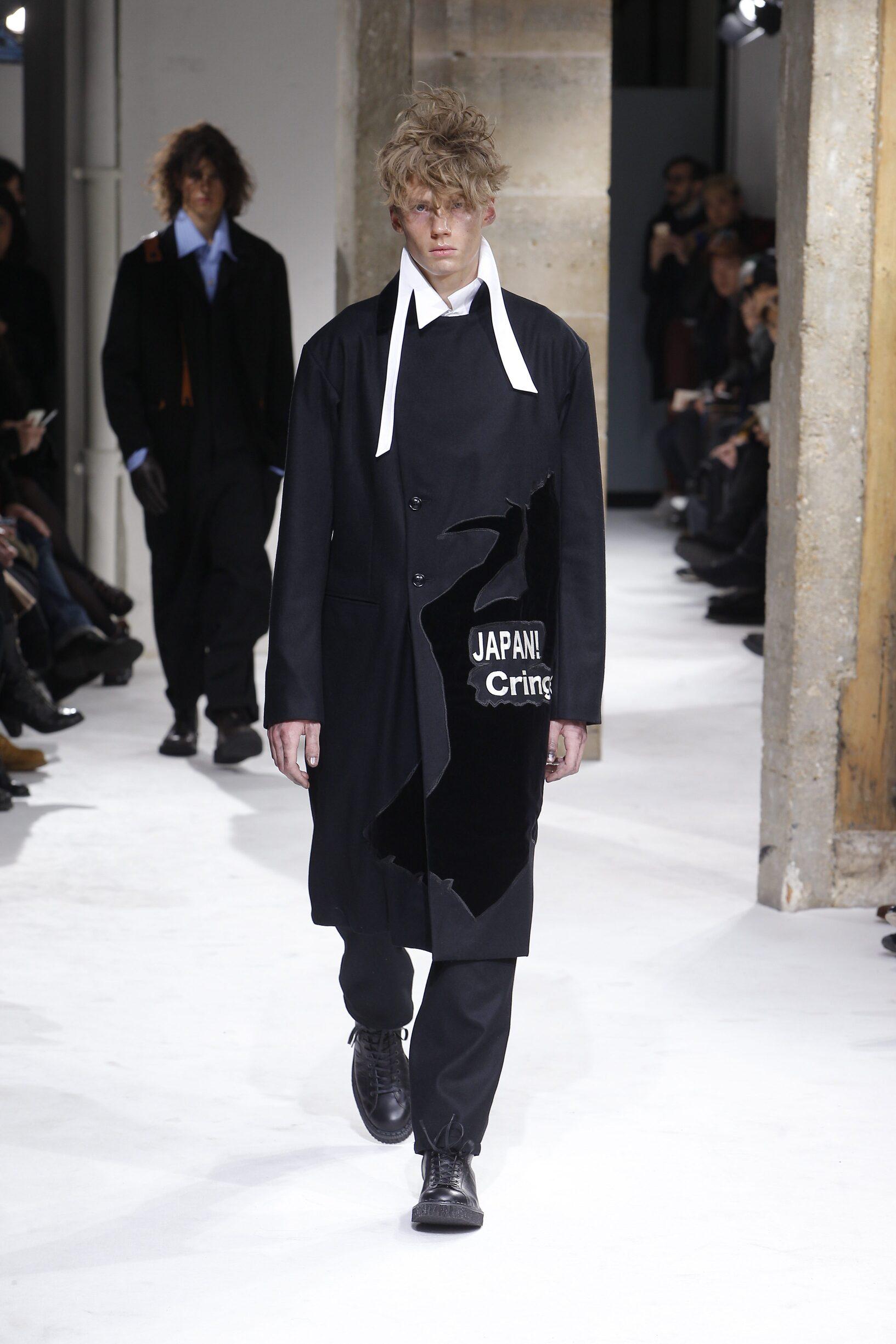 Winter 2017 Man Trends Yohji Yamamoto