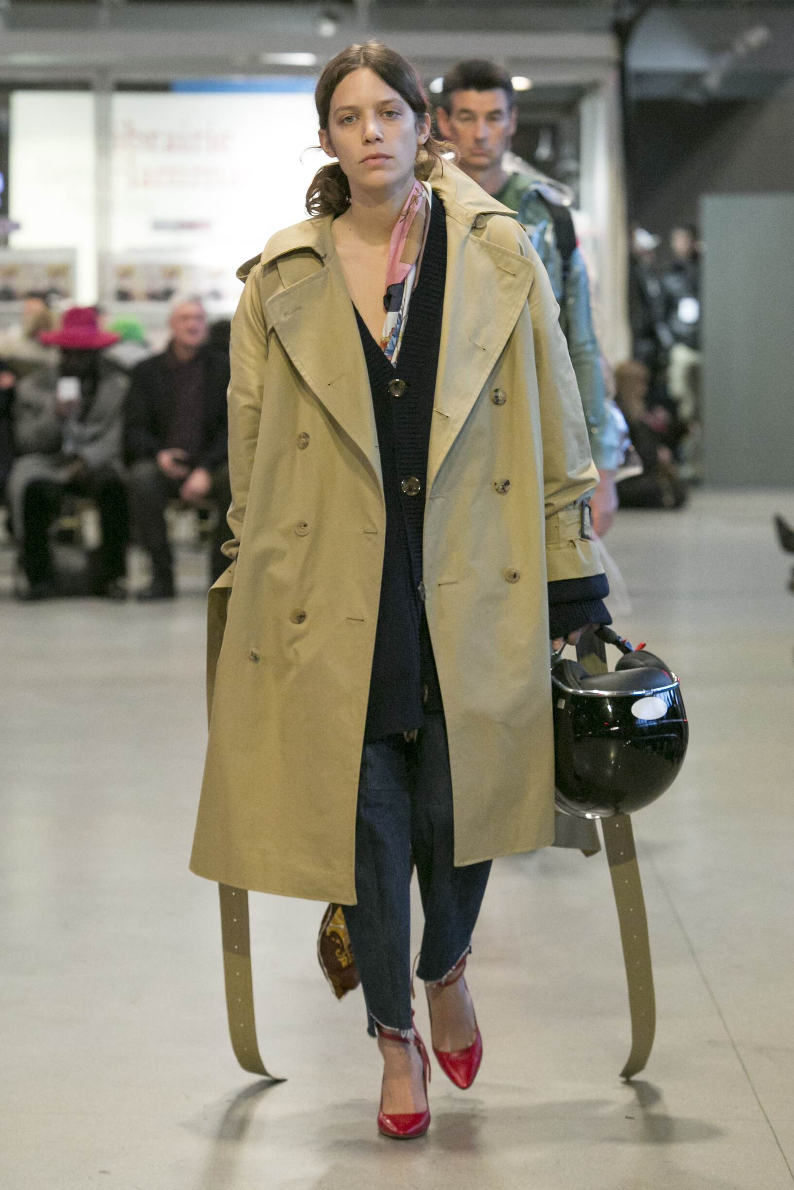 Woman Model Fashion Show Vetements