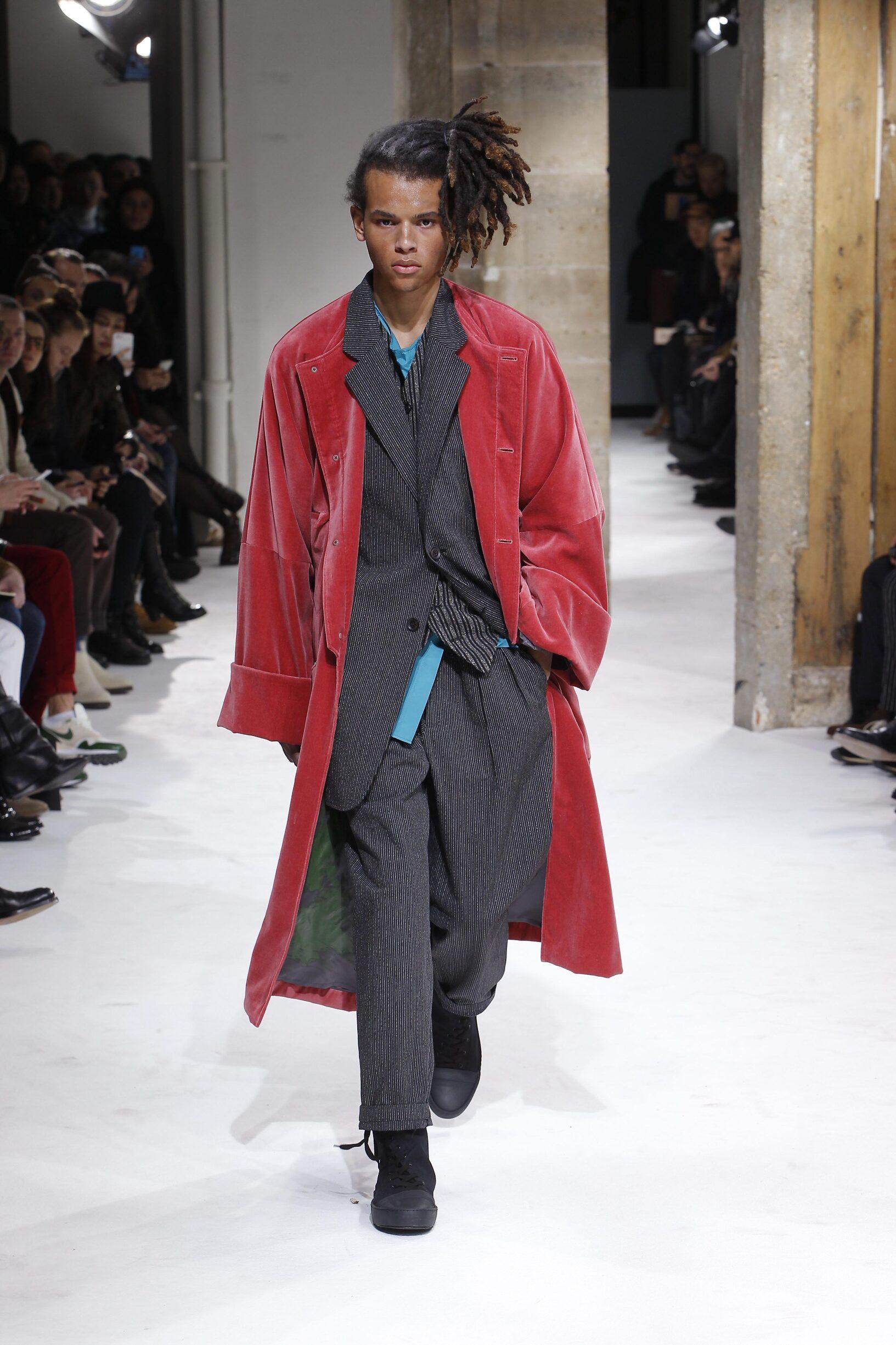 Yohji Yamamoto FW 2017 Menswear