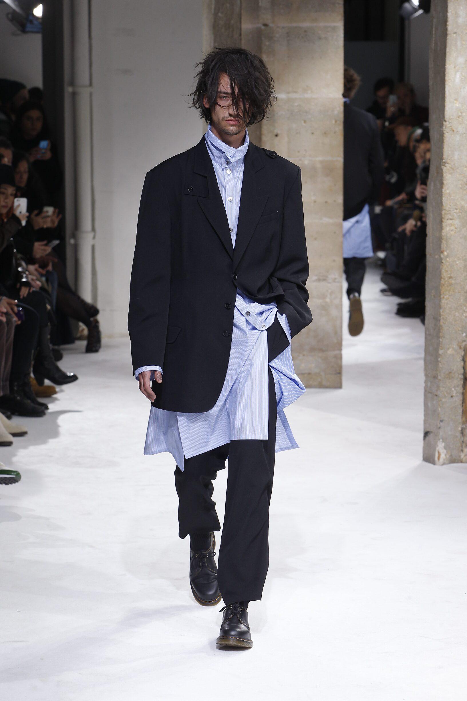 Yohji Yamamoto Fall Winter 2017 Mens Collection Paris Fashion Week