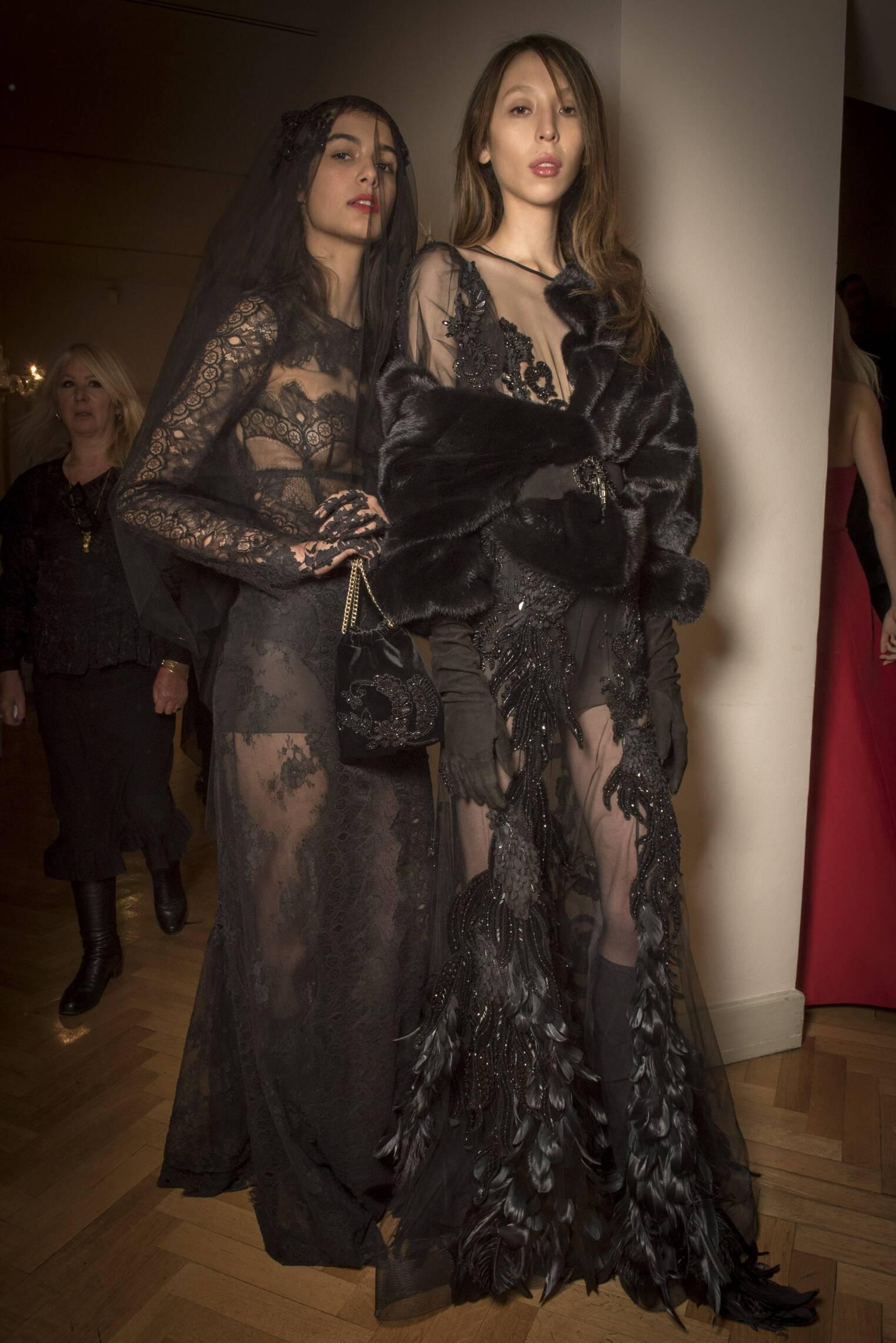 2017-18 Backstage Alberta Ferretti Models Womenswear