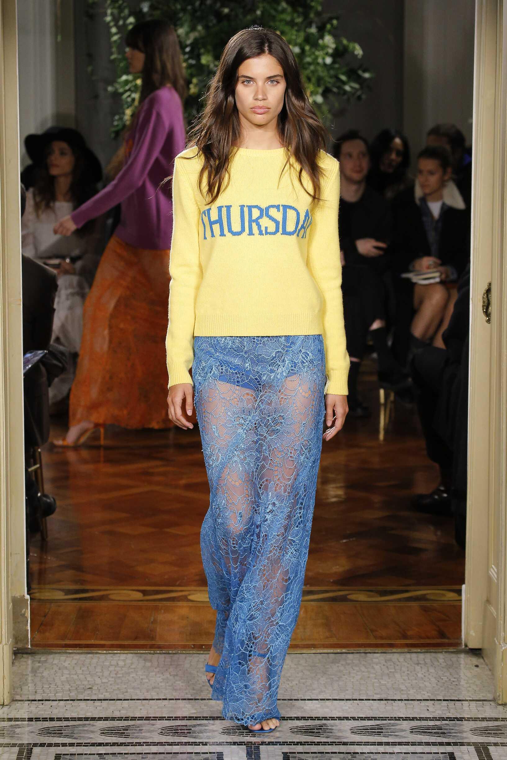 2017-18 Womenswear Alberta Ferretti Rainbow Collection