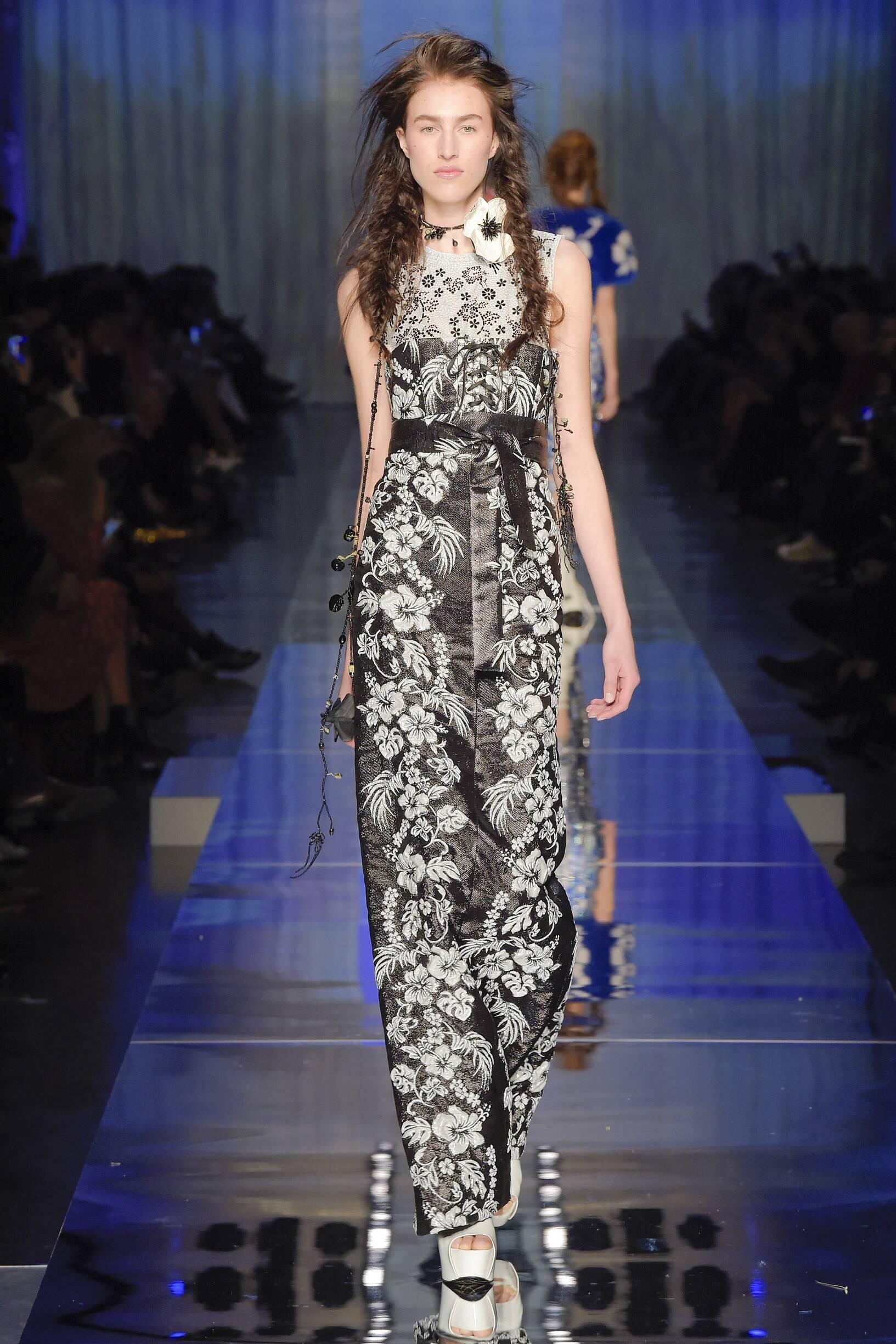2017-2018 Catwalk Jean Paul Gaultier Couture Woman Summer