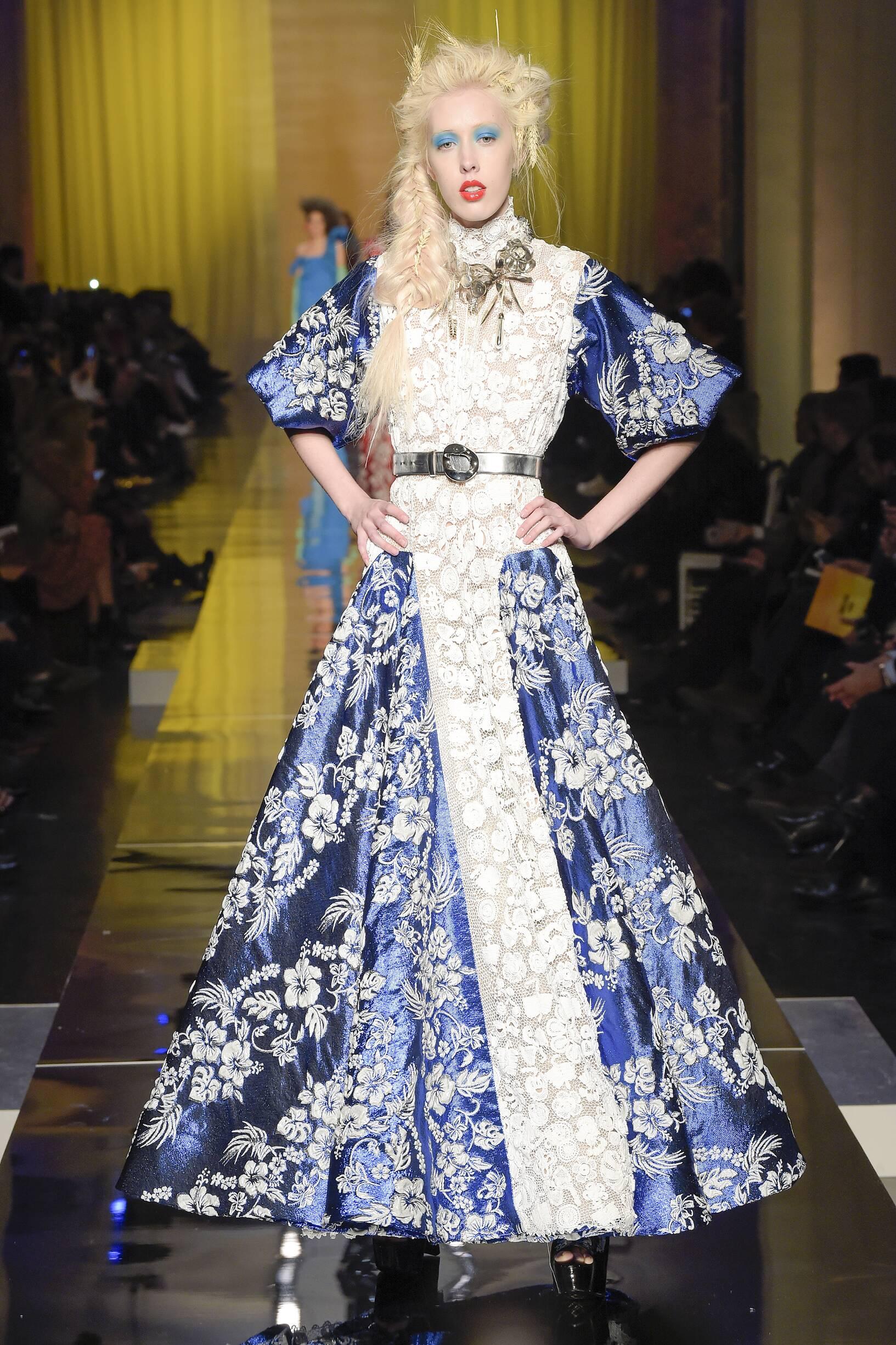 2017-2018 Woman Catwalk Jean Paul Gaultier Couture