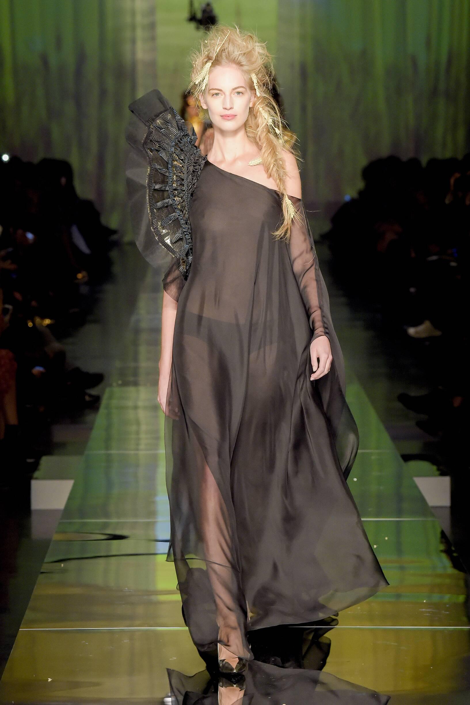 2017 Catwalk Jean Paul Gaultier Couture Woman Summer