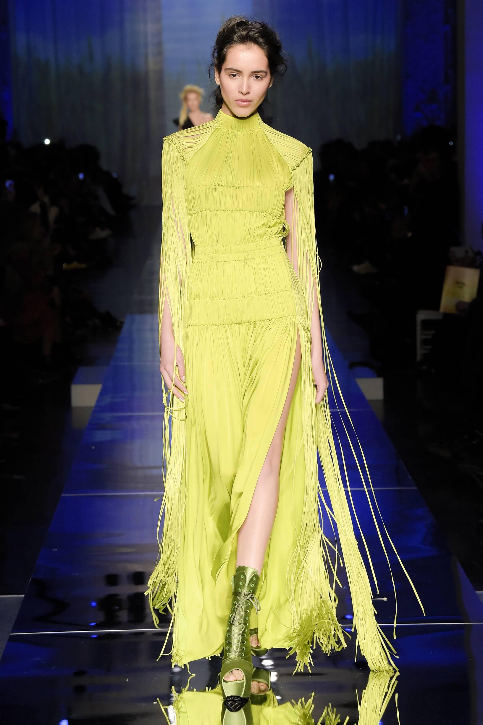 2017 Catwalk Jean Paul Gaultier Haute Couture Woman Fashion Show Summer