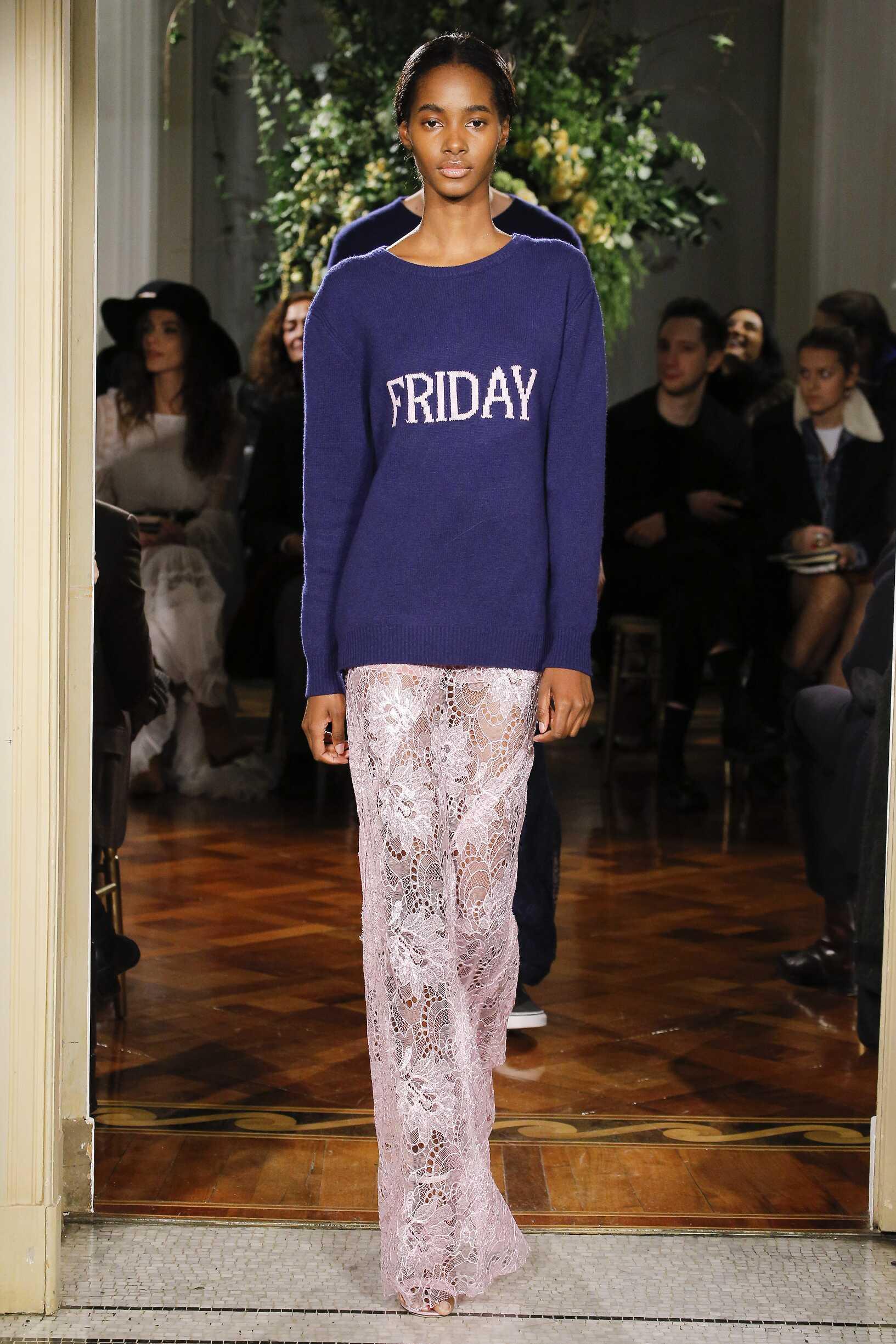 2017 Fashion Trends Alberta Ferretti Rainbow Collection