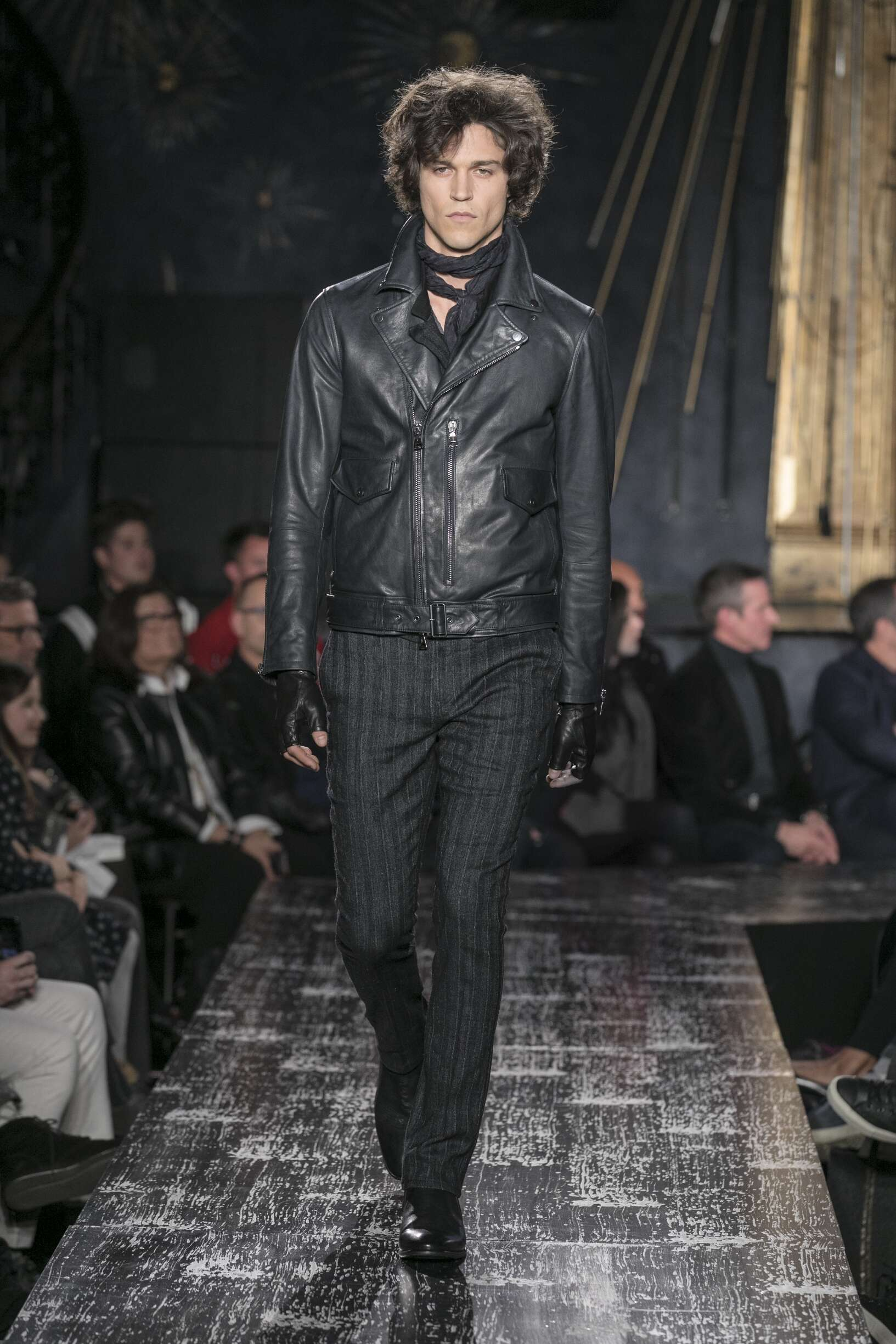 2017 John Varvatos Man Fall Catwalk