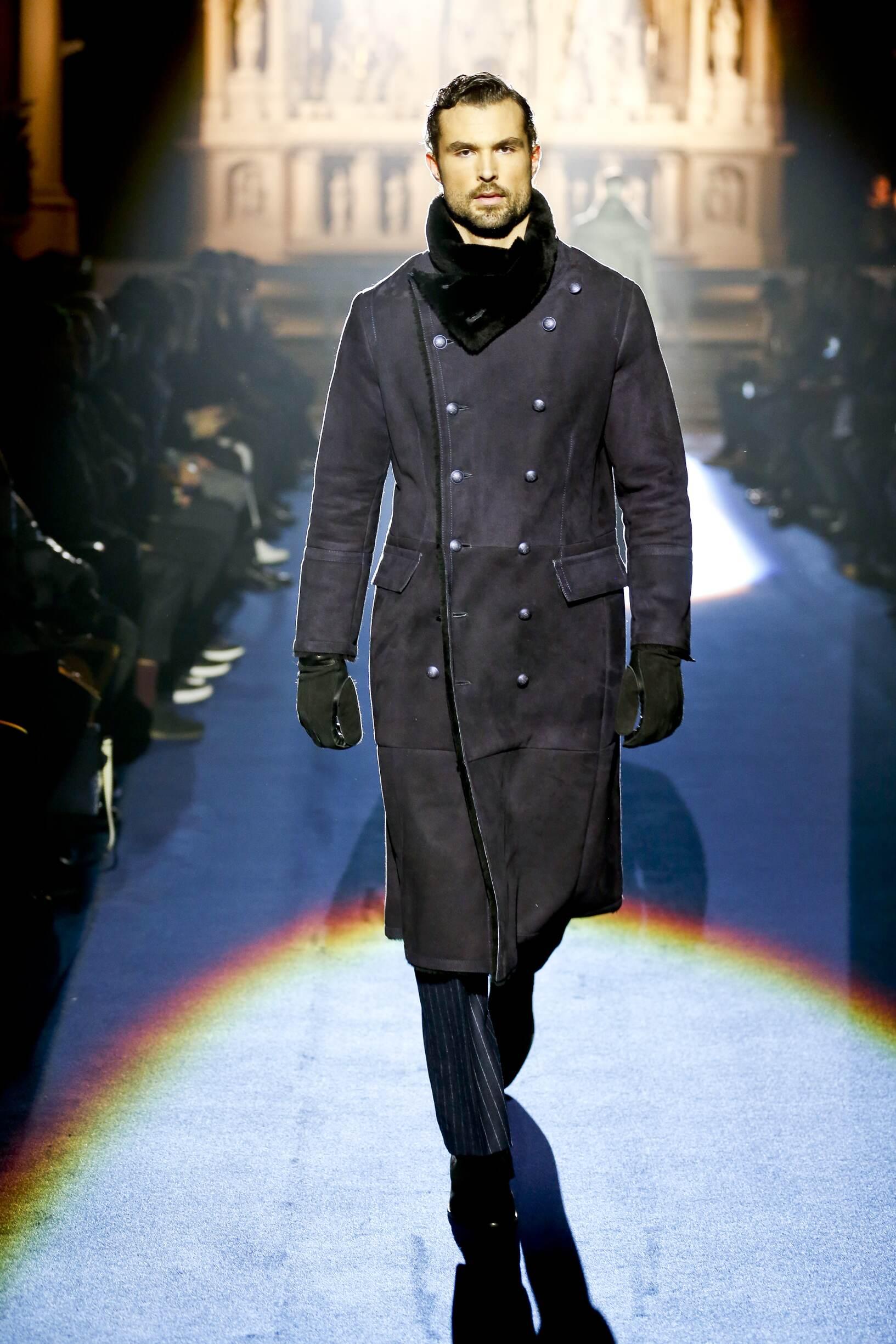 2017 Joseph Abboud Winter Catwalk
