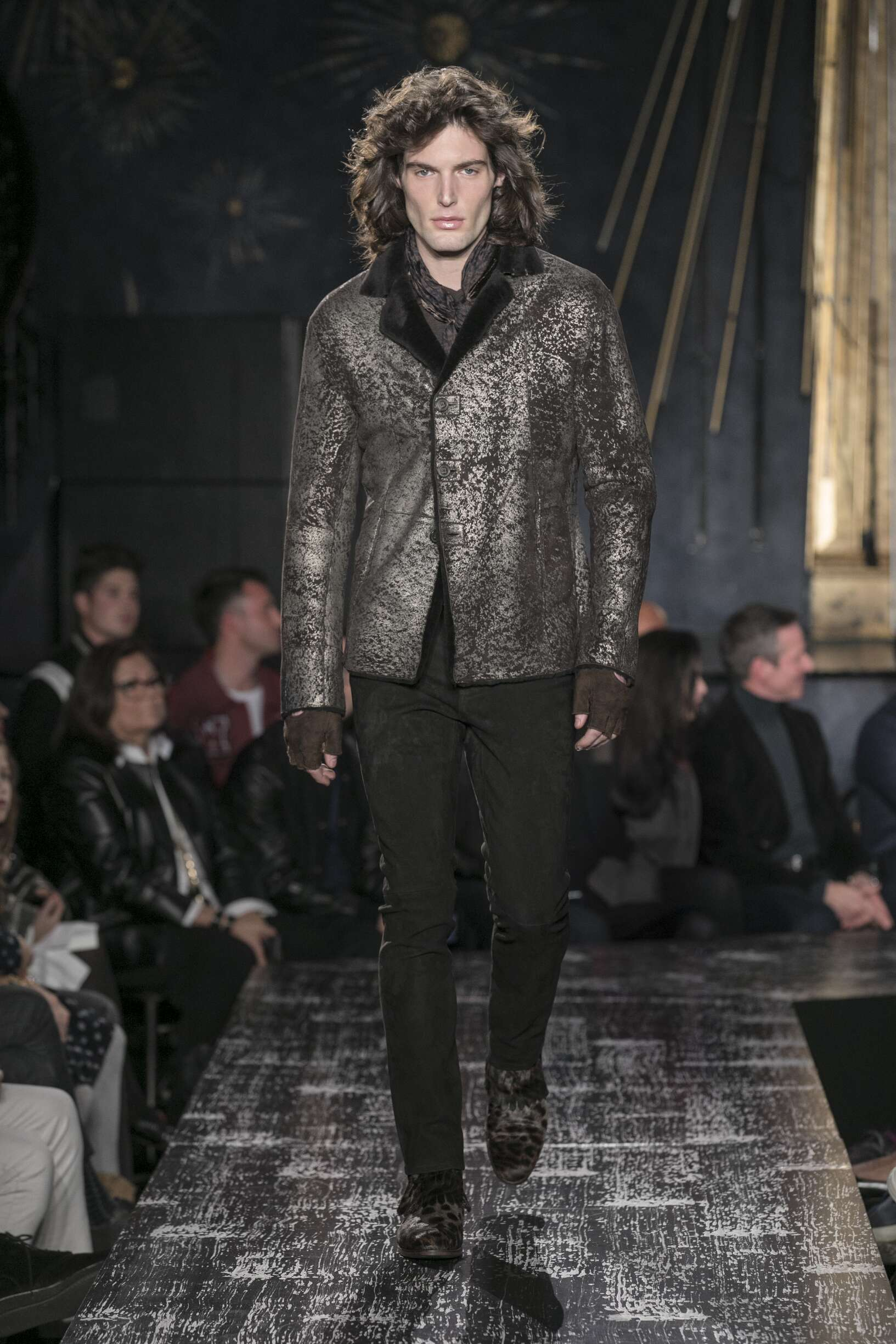2017 Man Catwalk John Varvatos