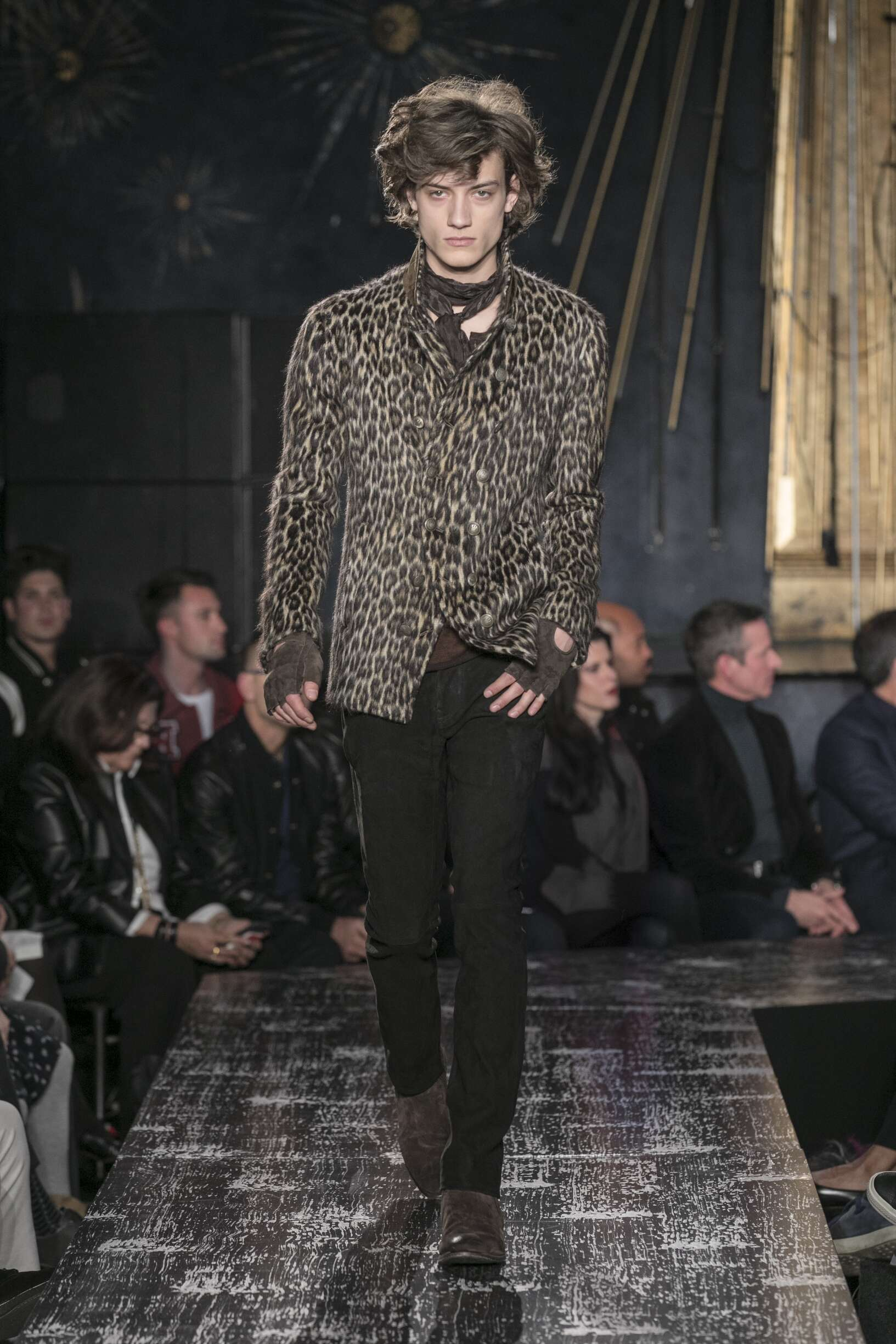 2017 Man John Varvatos Winter Catwalk