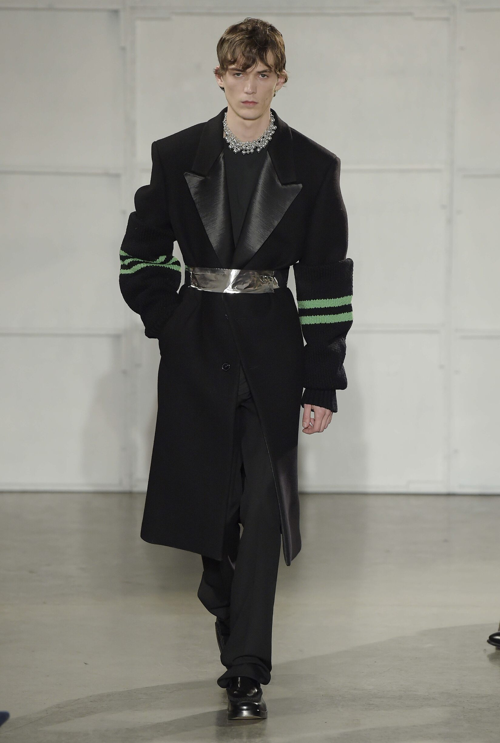 2017 Man Raf Simons Winter Catwalk