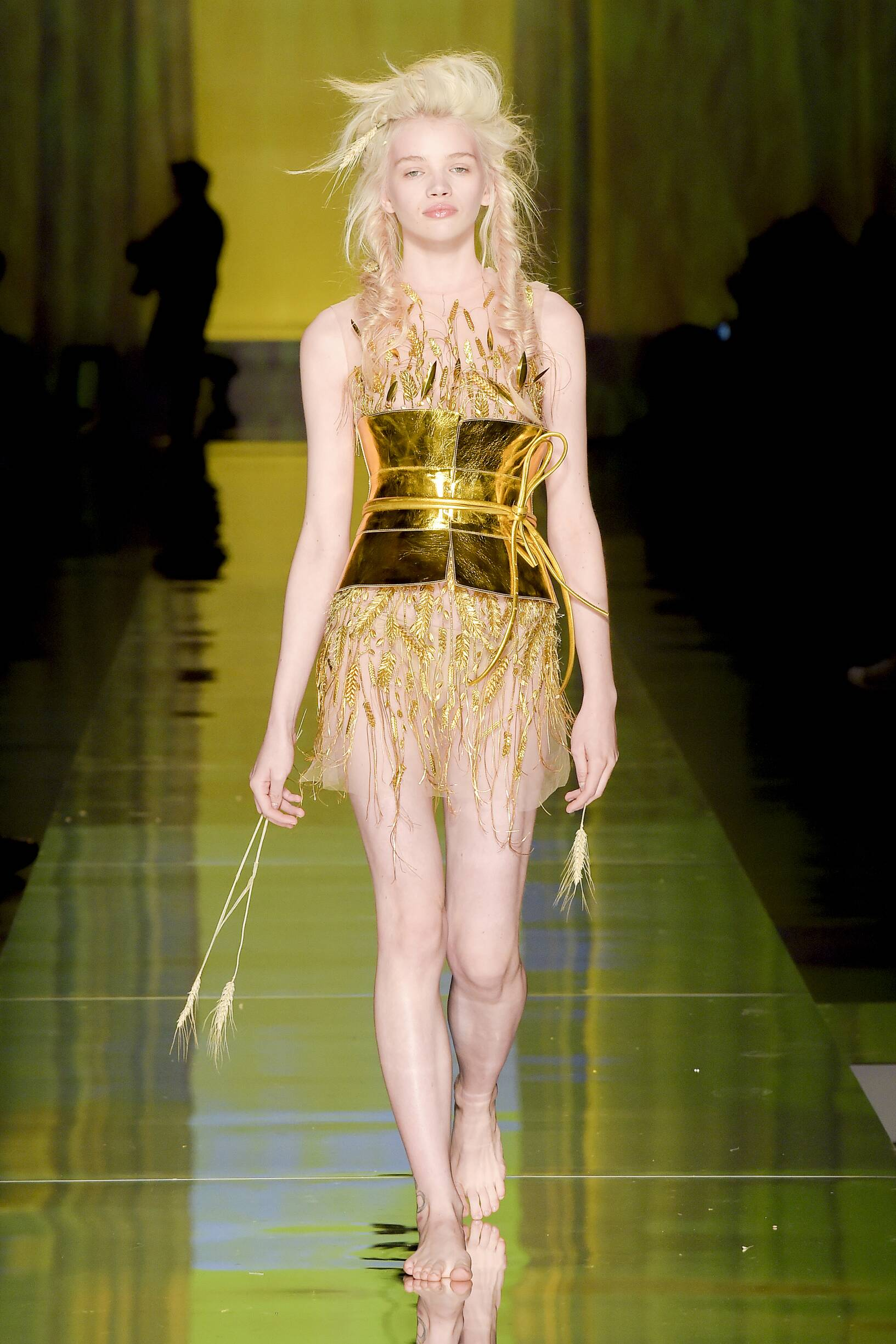 2017 Woman Catwalk Jean Paul Gaultier Couture