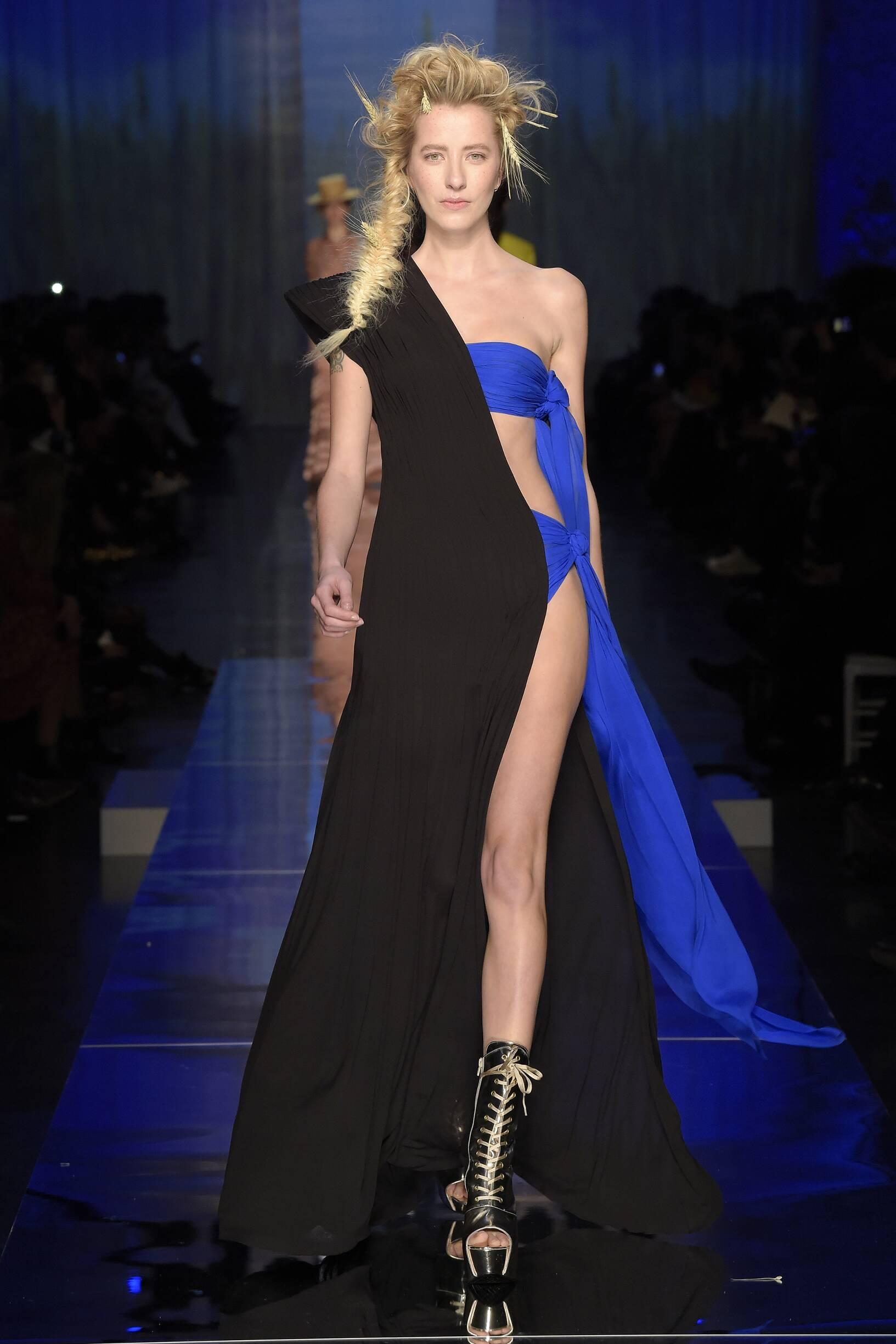 2017 Woman Jean Paul Gaultier Haute Couture Summer Catwalk