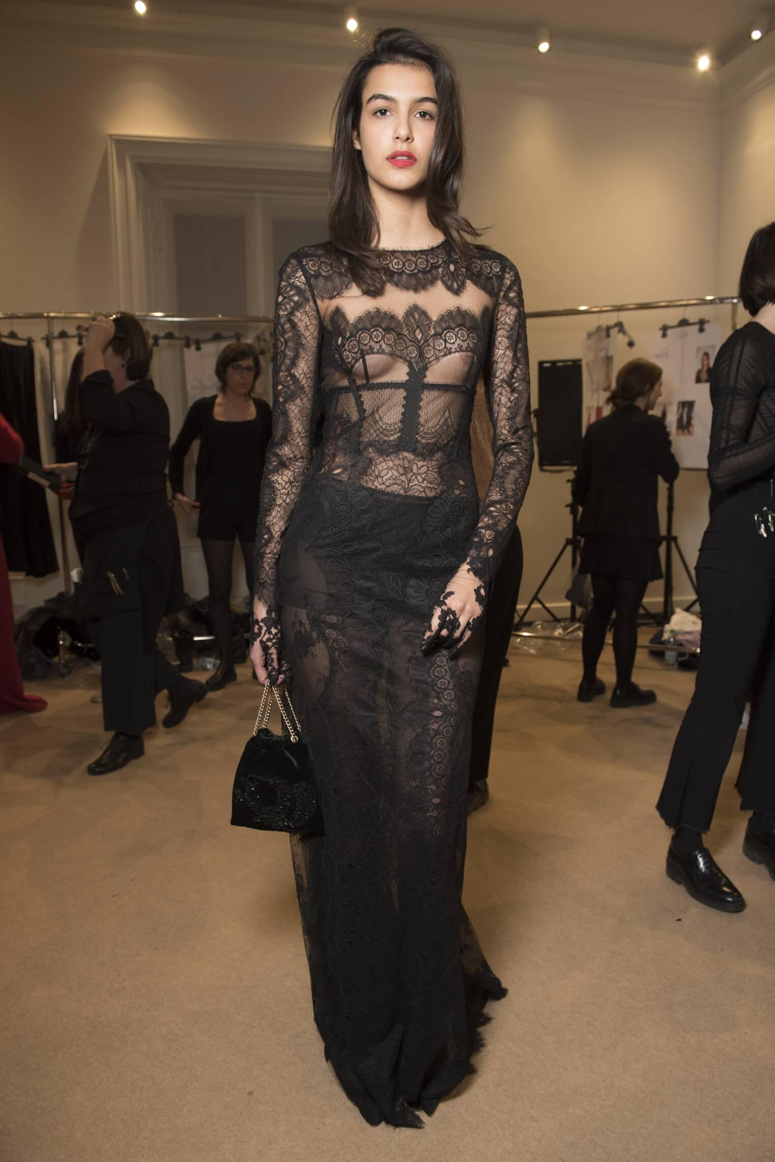 2017 Woman Style Backstage Alberta Ferretti