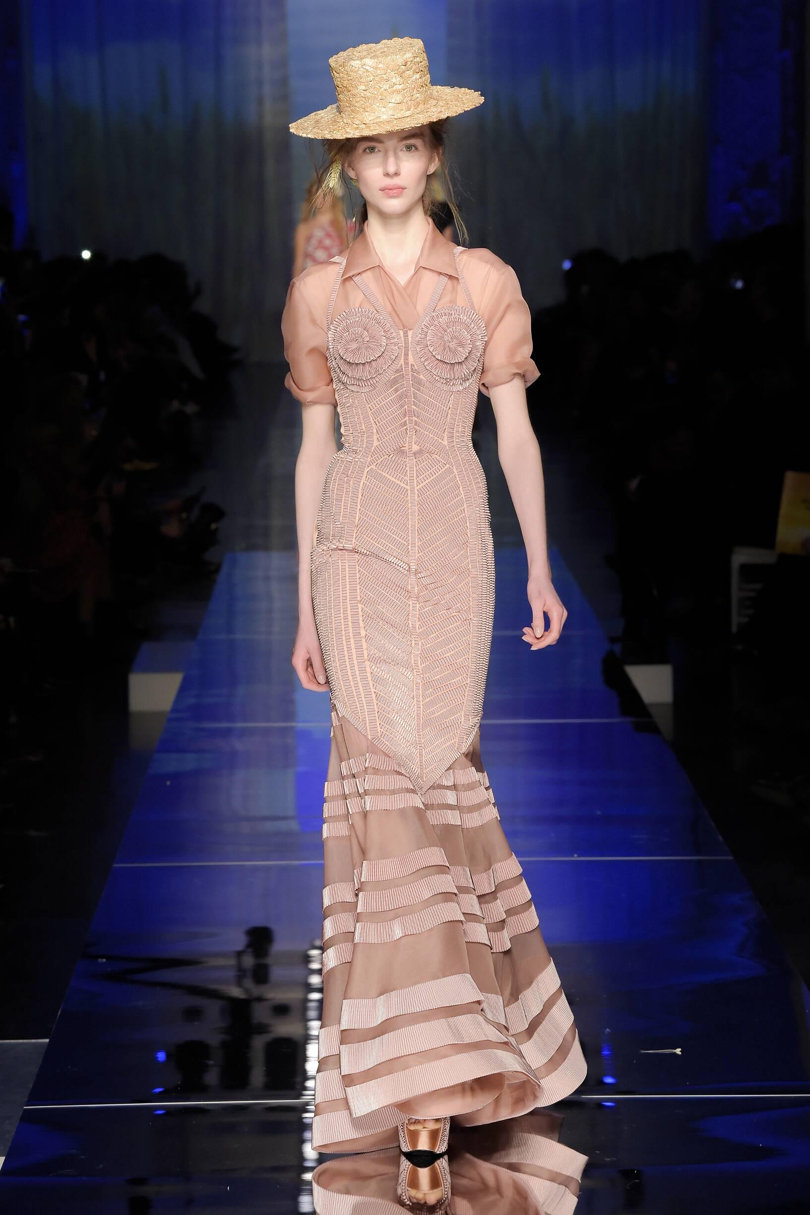 2017 Womenswear Jean Paul Gaultier Haute Couture Catwalk