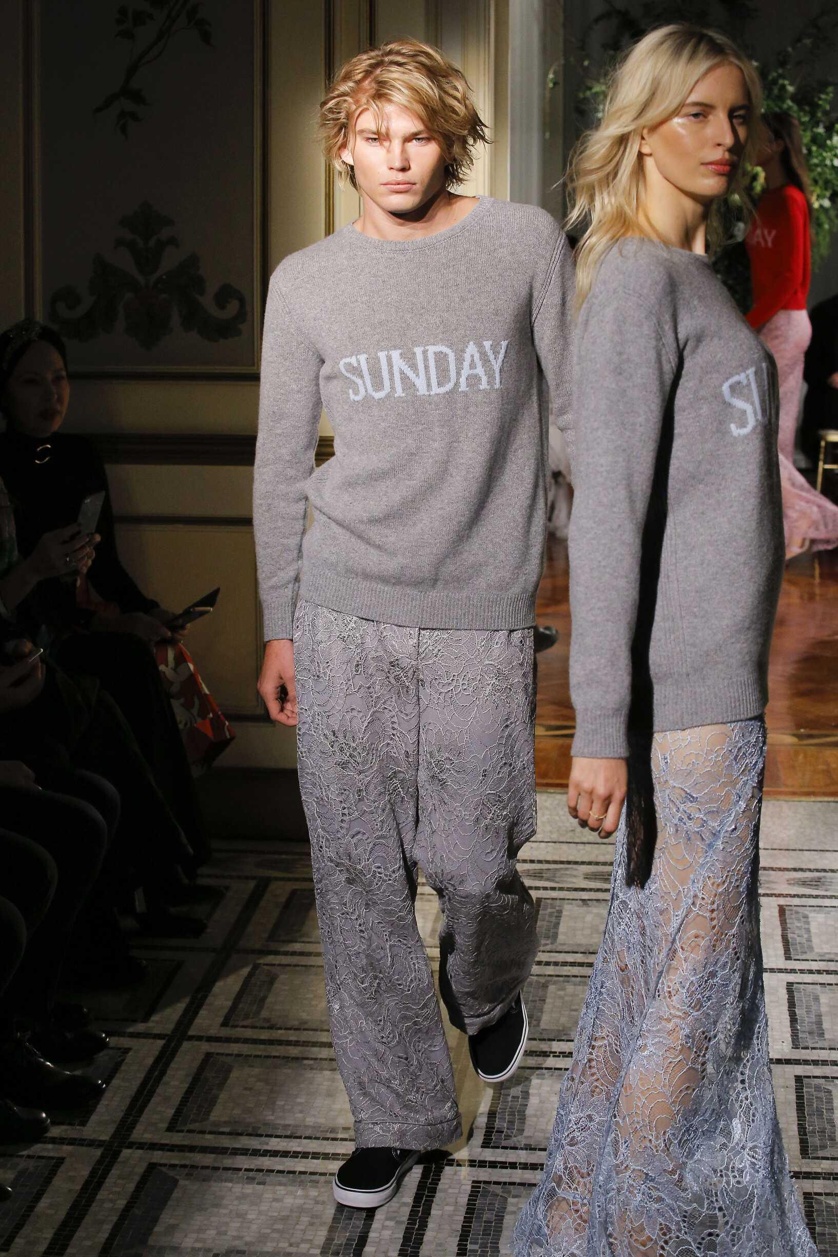 Alberta Ferretti Rainbow Collection 2017 Man Milan Fashion Week