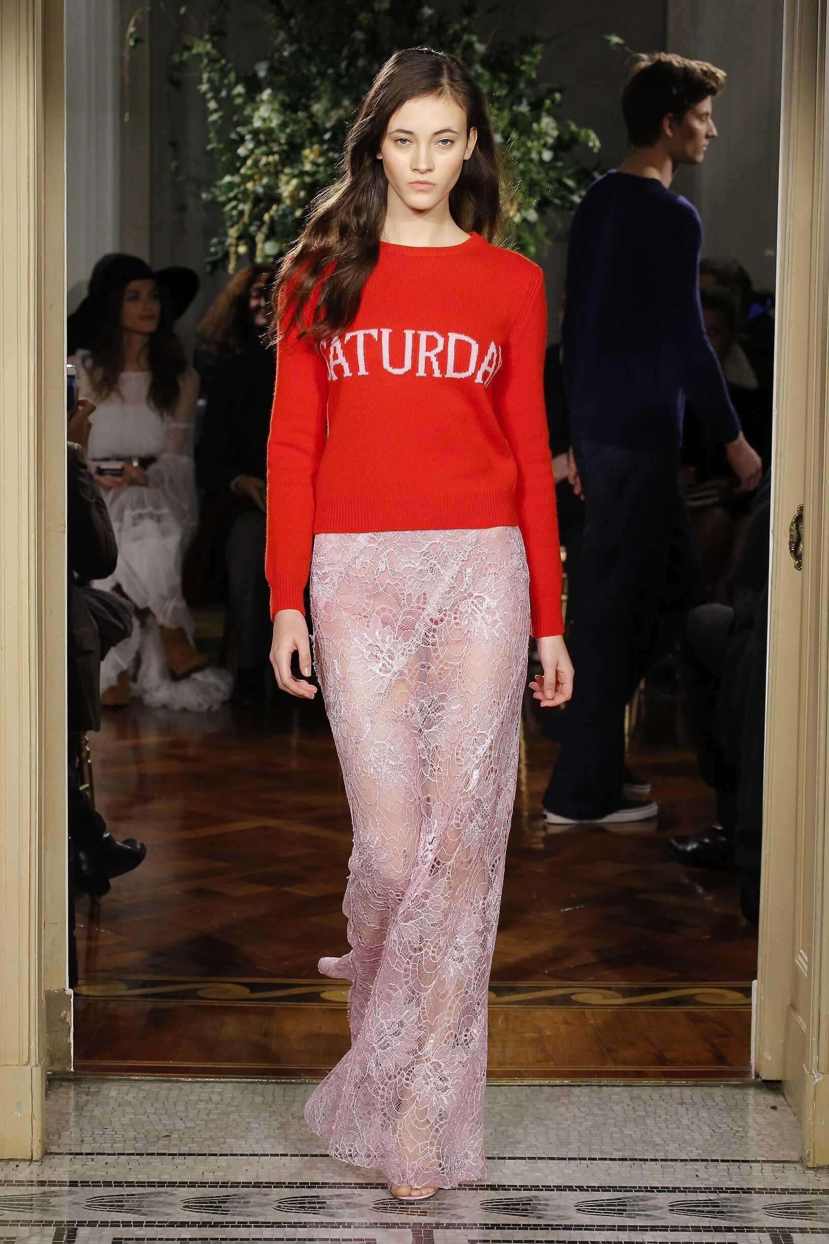 Alberta Ferretti Rainbow Collection Woman Style