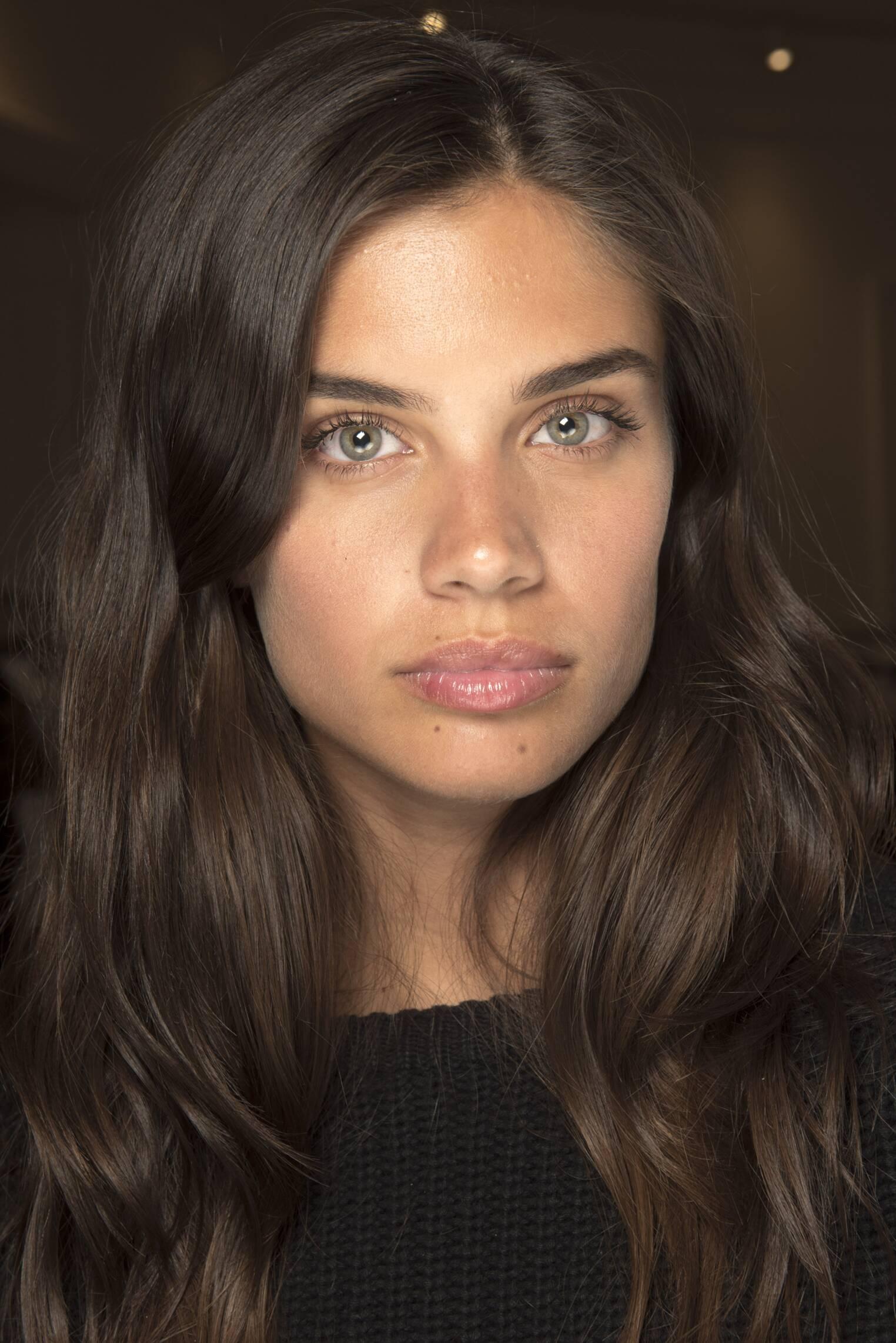 Backstage Alberta Ferretti Model Portrait