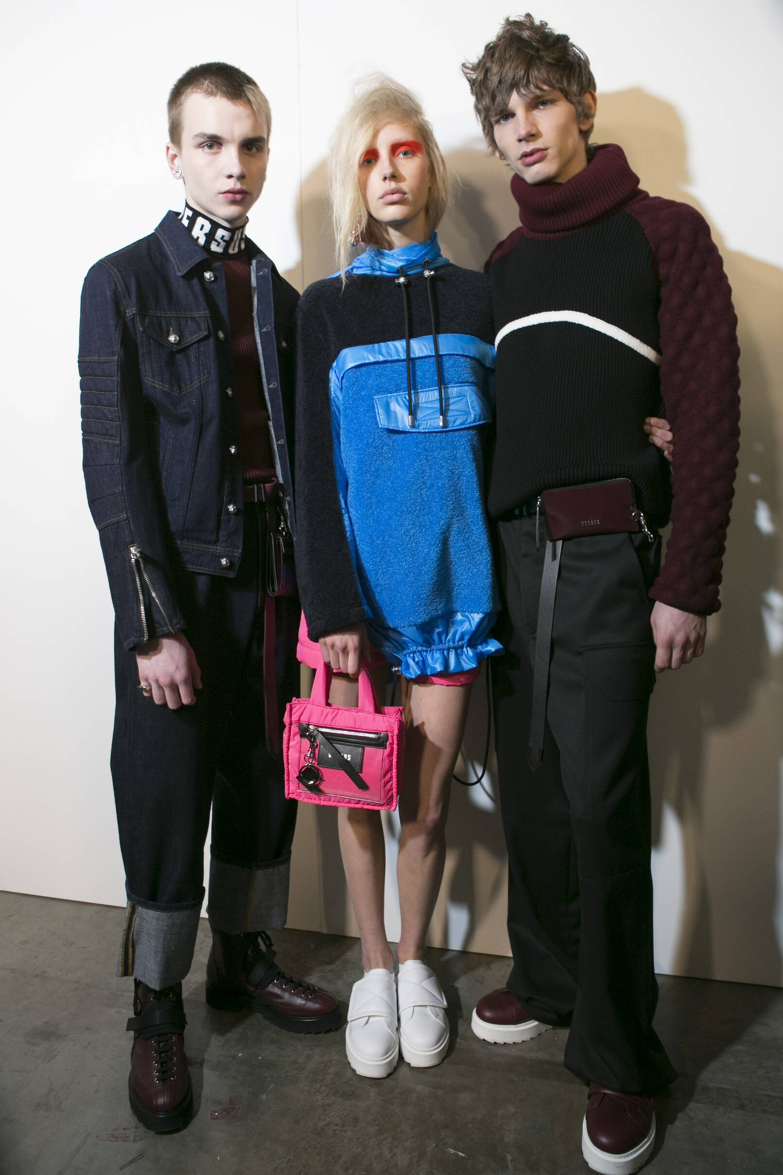 Backstage Models Versus Versace