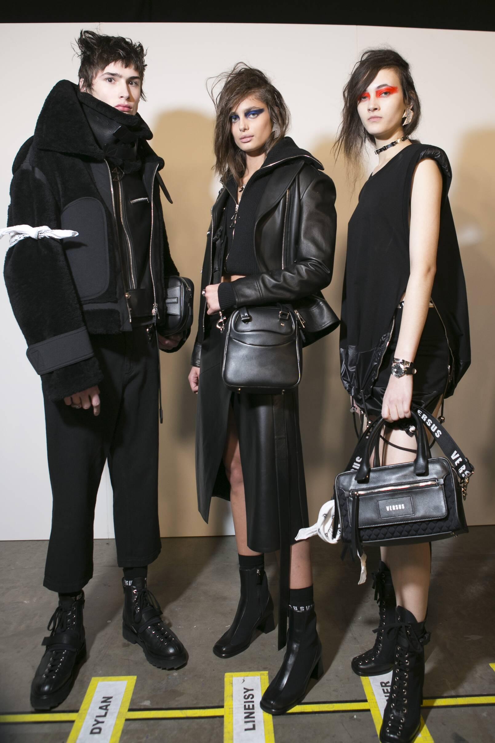 Backstage Versus Versace Models London