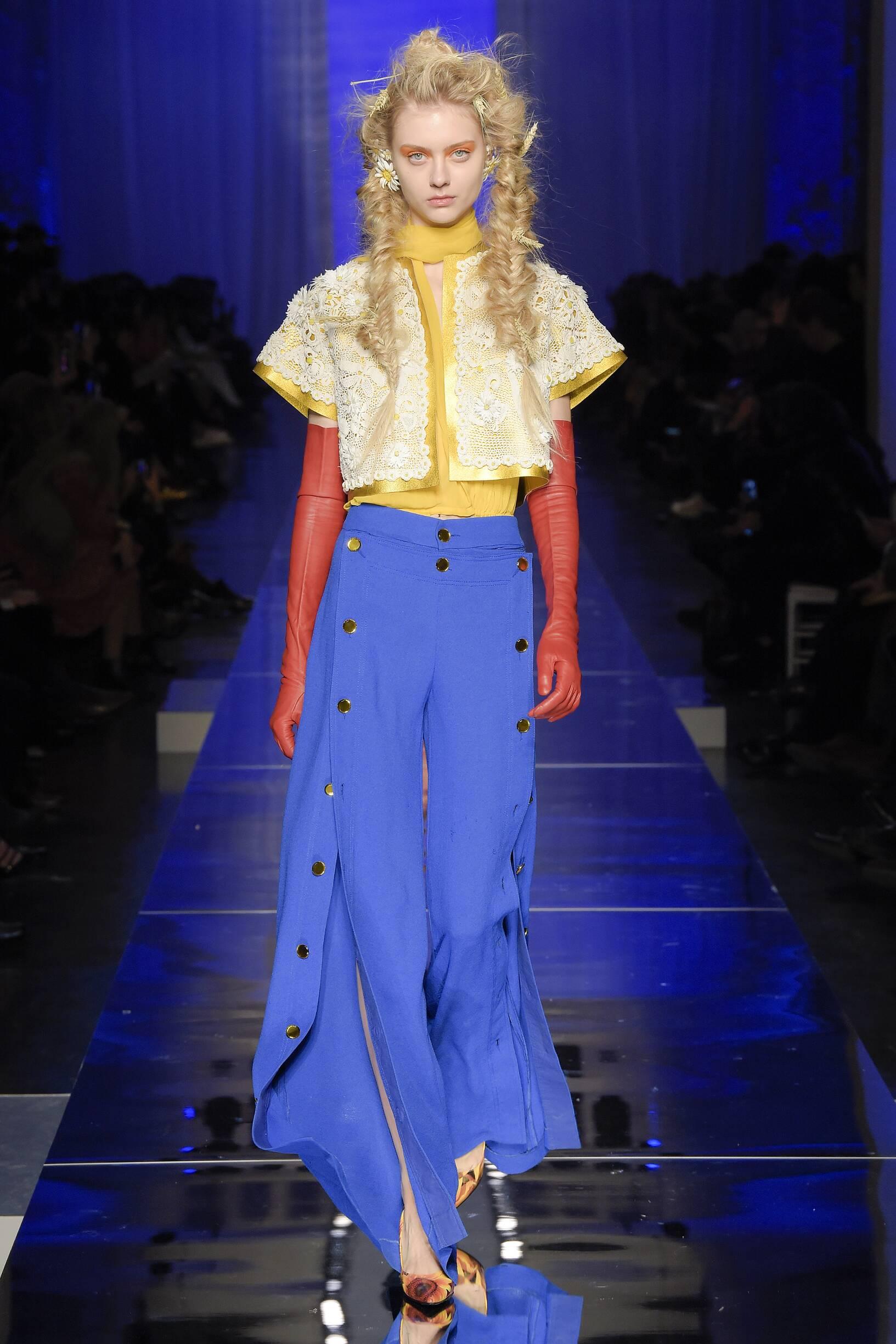 Catwalk Jean Paul Gaultier Haute Couture Woman Fashion Show Summer 2017