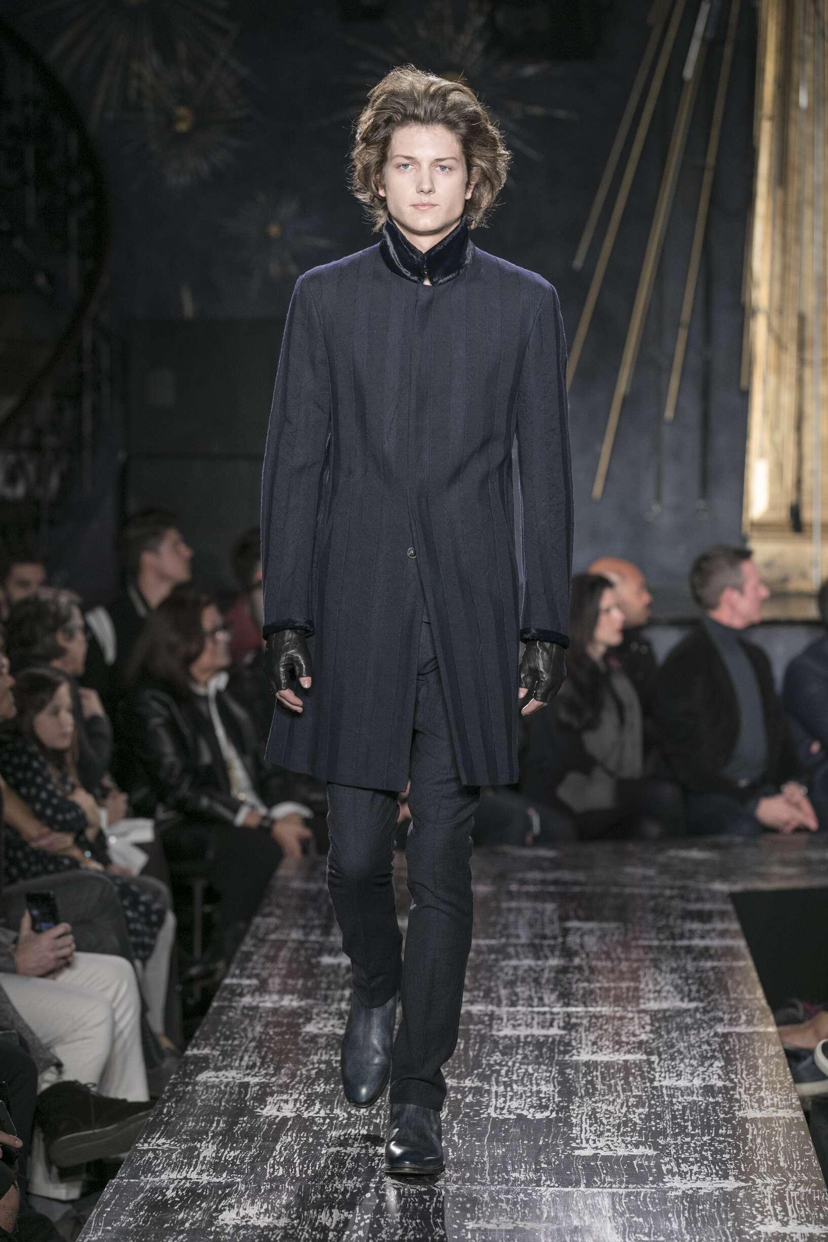 Catwalk John Varvatos Man Fashion Show Winter 2017