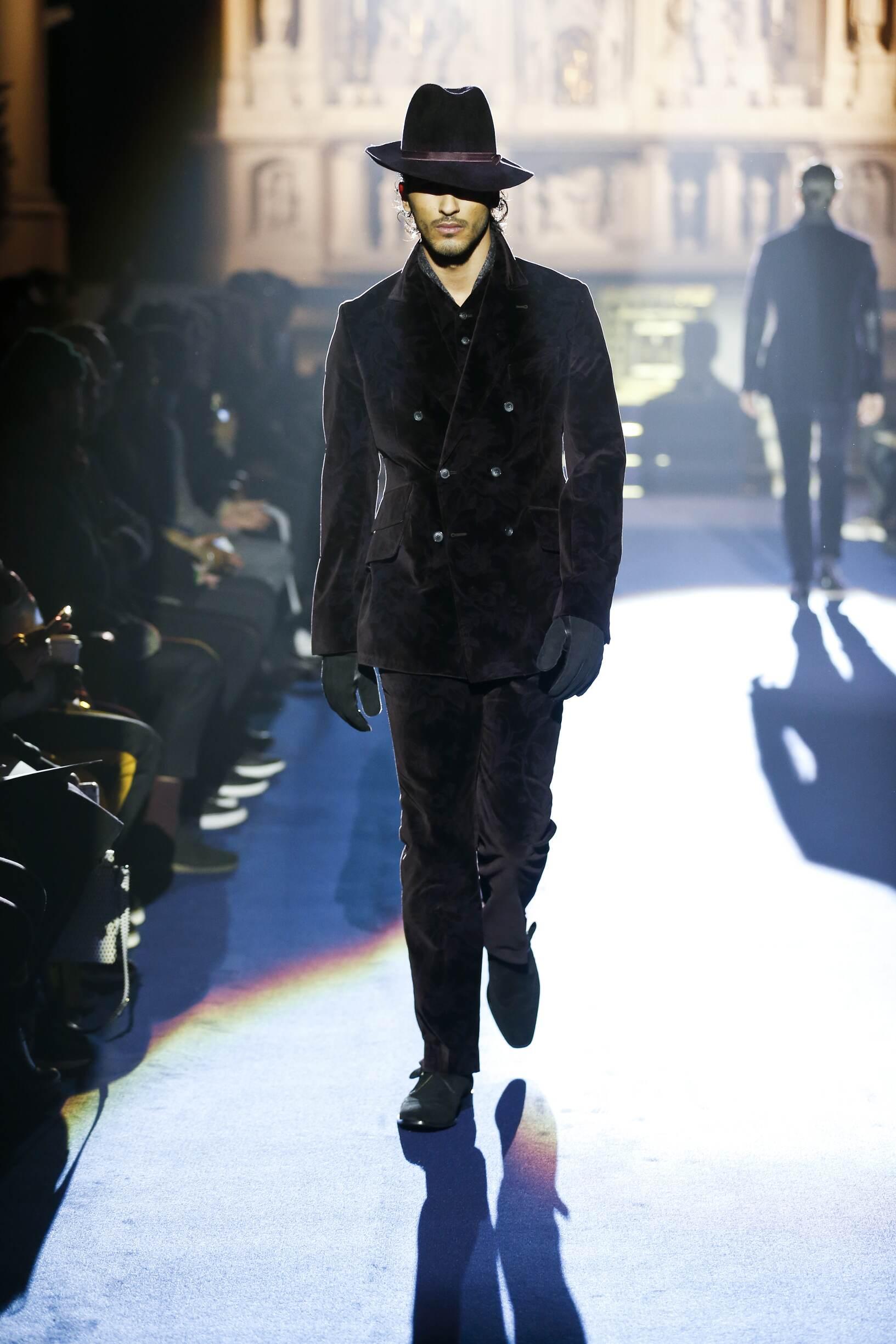 Catwalk Joseph Abboud Man Fashion Show Winter 2017