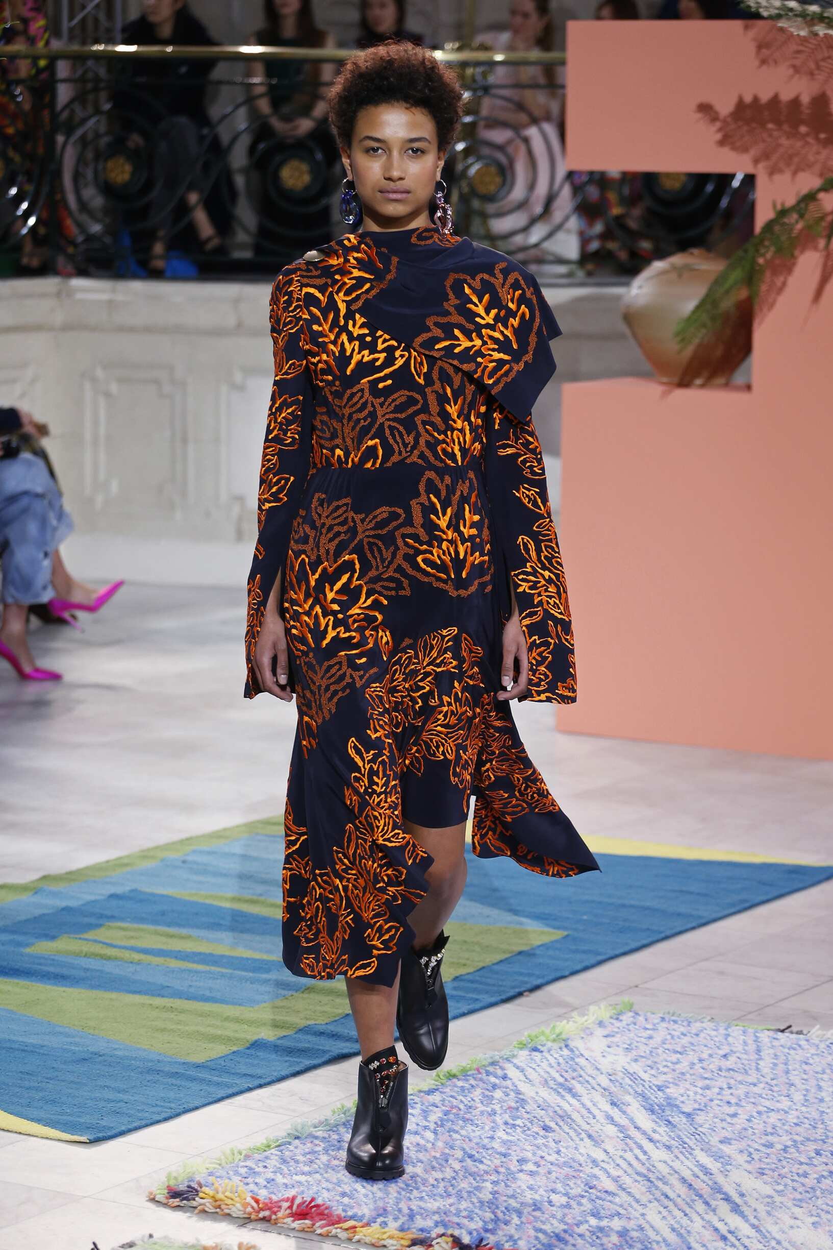 Catwalk Peter Pilotto Woman Fashion Show Winter 2017