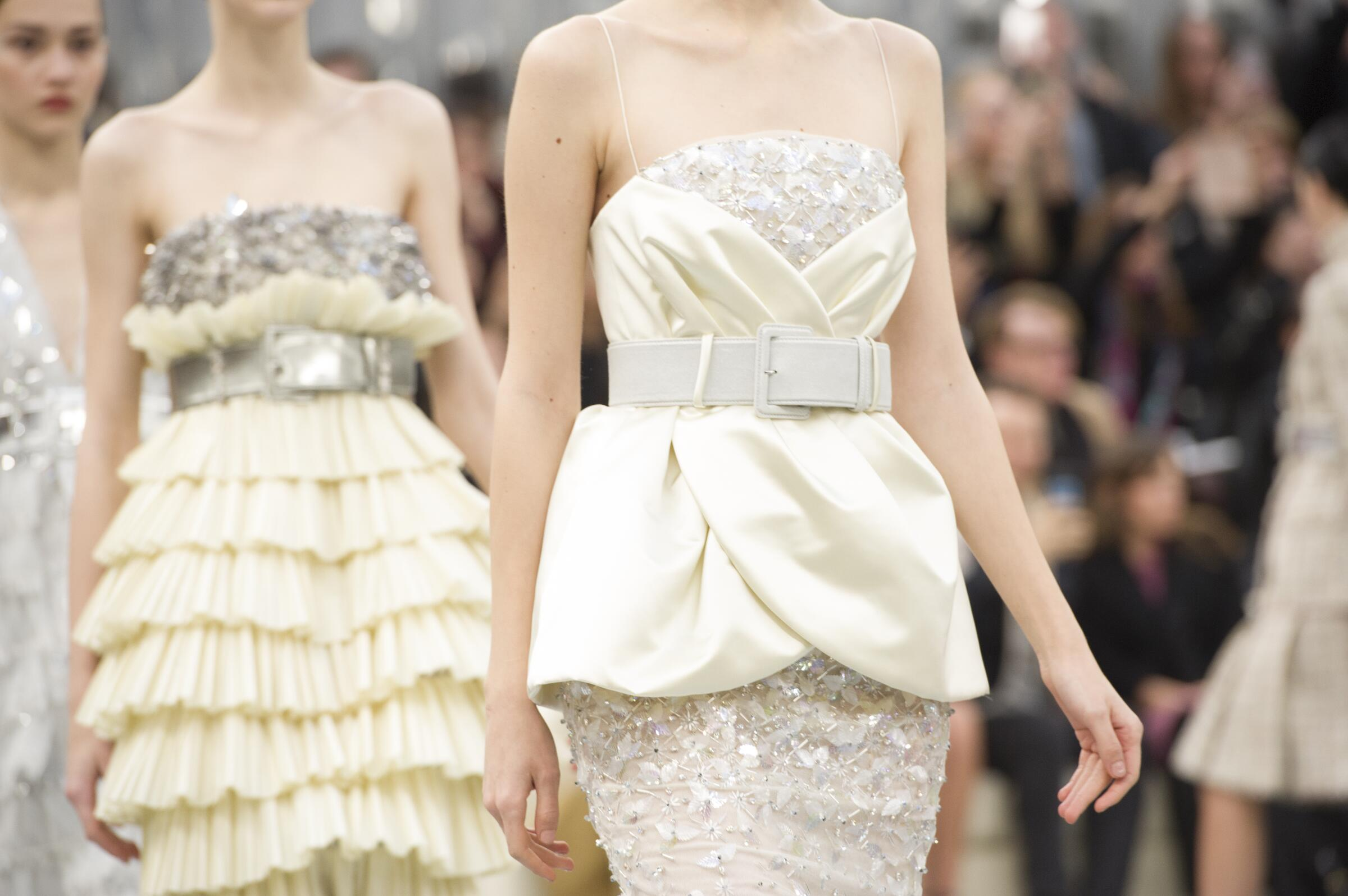 Chanel Haute Couture Spring Summer 2017 Womens Collection Details