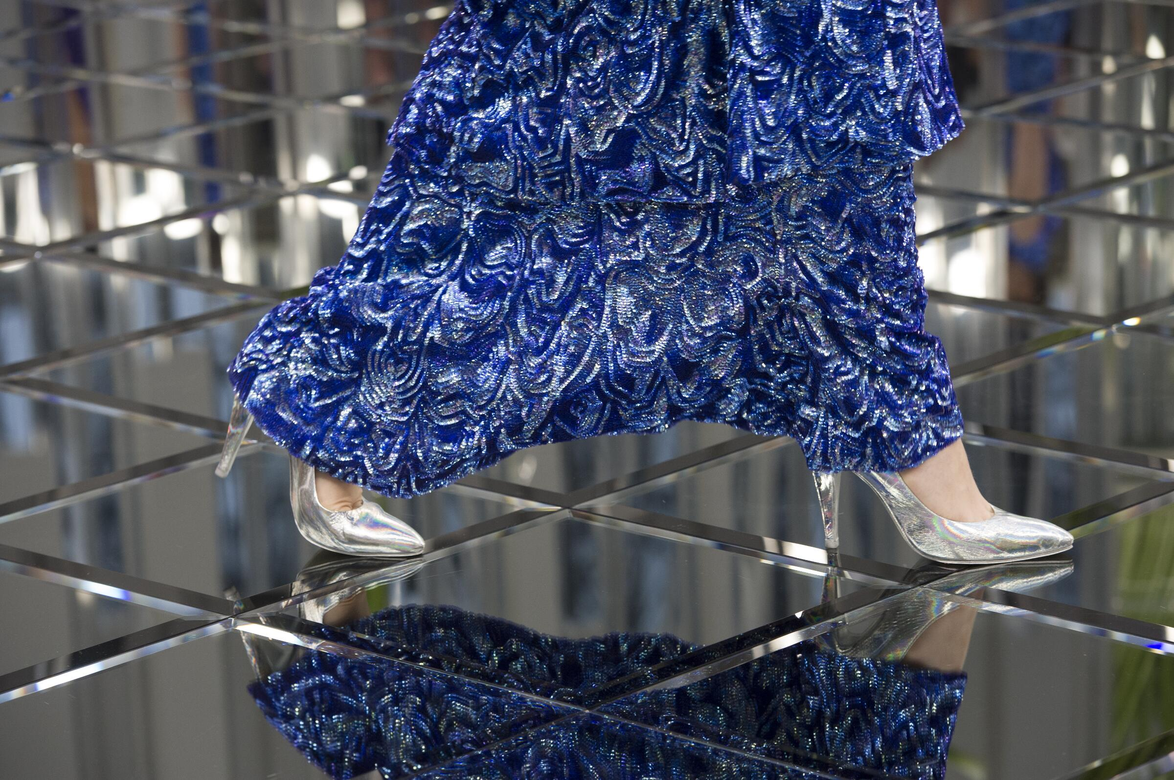 Chanel Haute Couture Woman Fashion Shoes