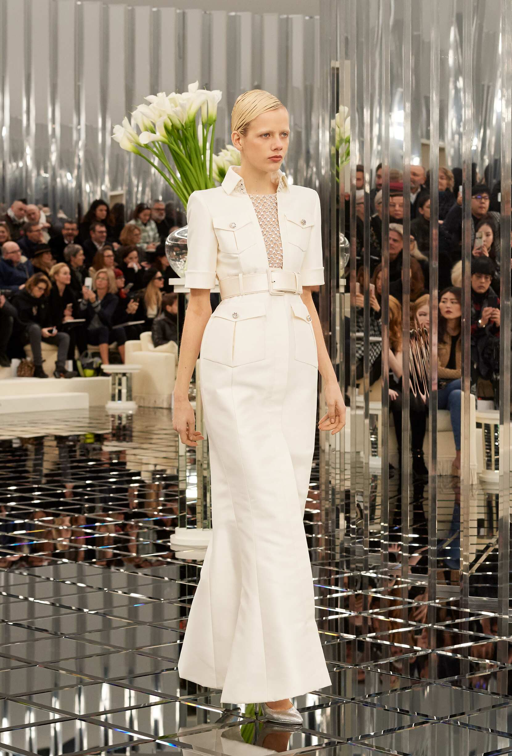 Chanel Haute Couture Woman Fashion Style