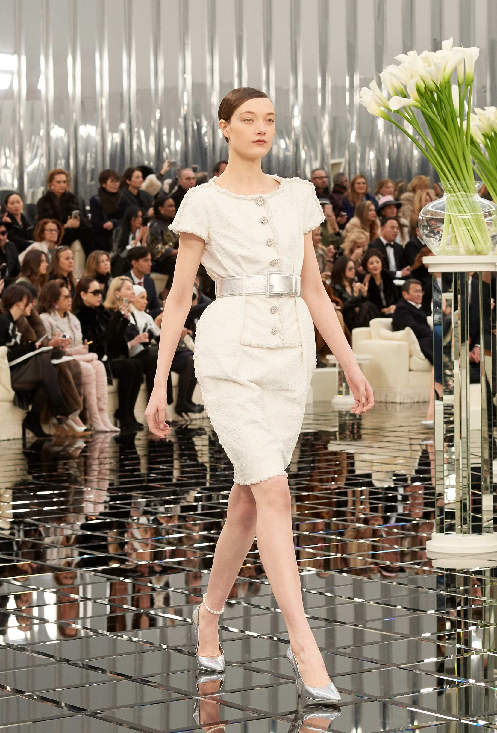 Chanel Haute Couture Woman Paris Fashion Week