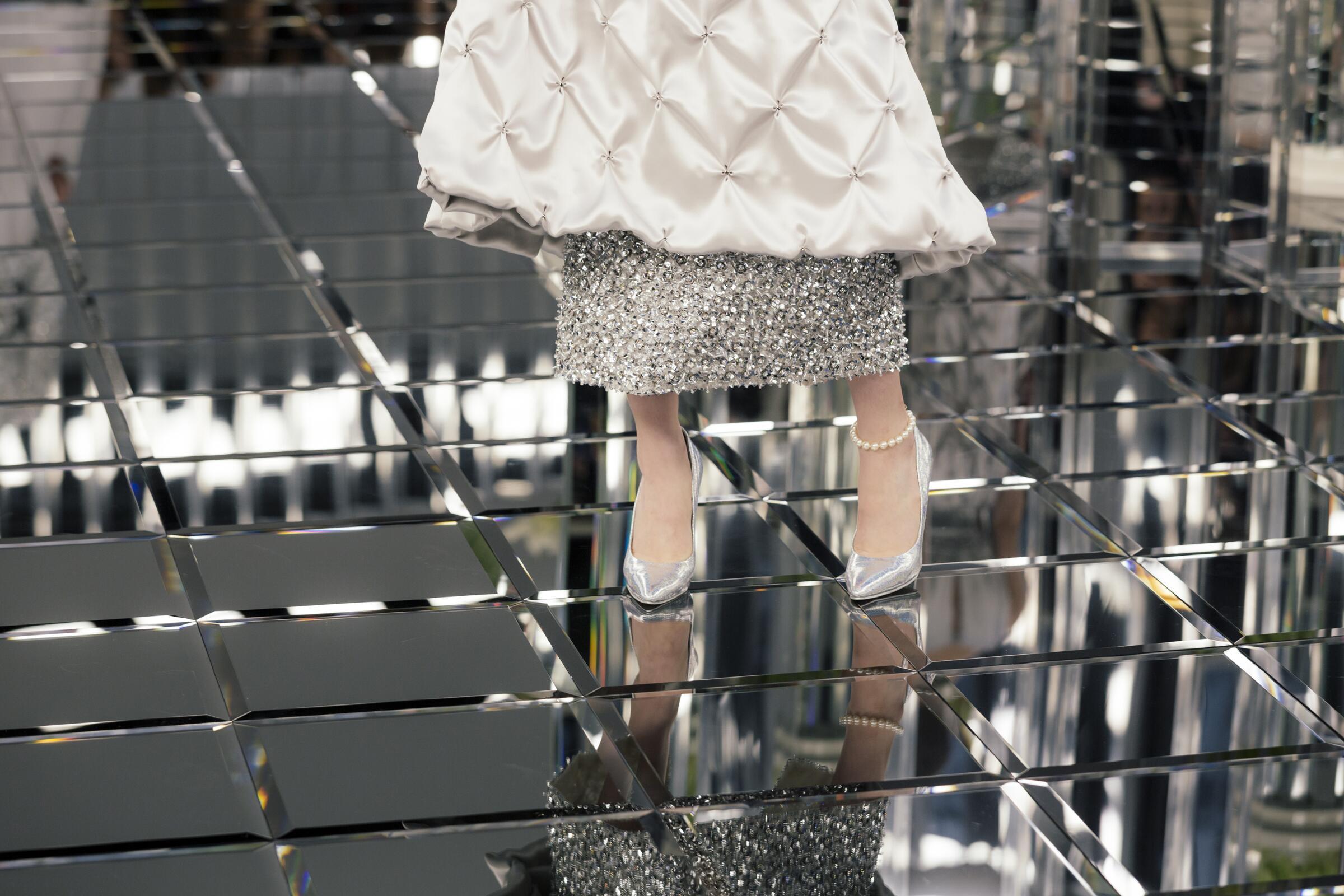 Chanel Haute Couture Woman Shoes Detail