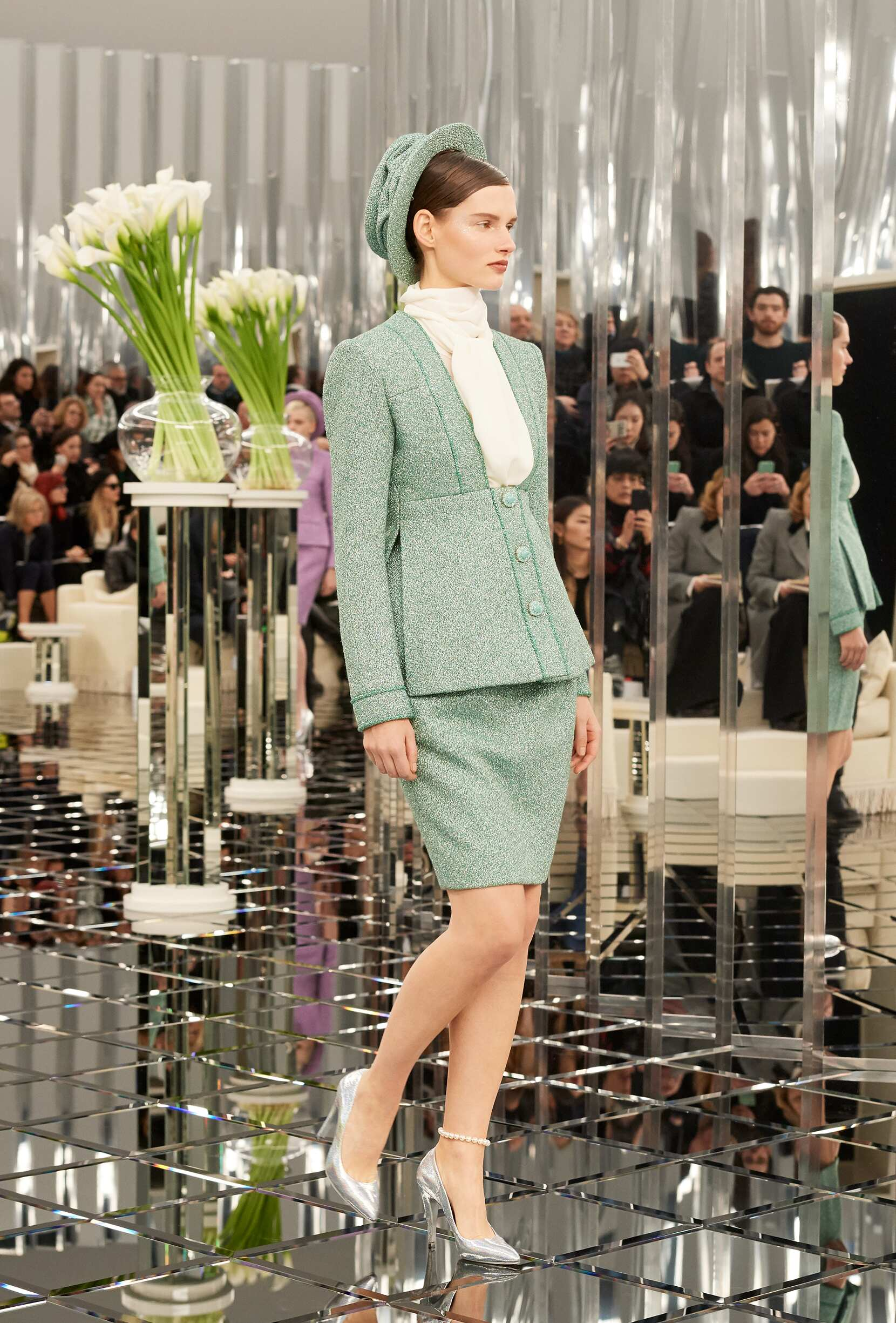 Chanel Haute Couture Woman Style