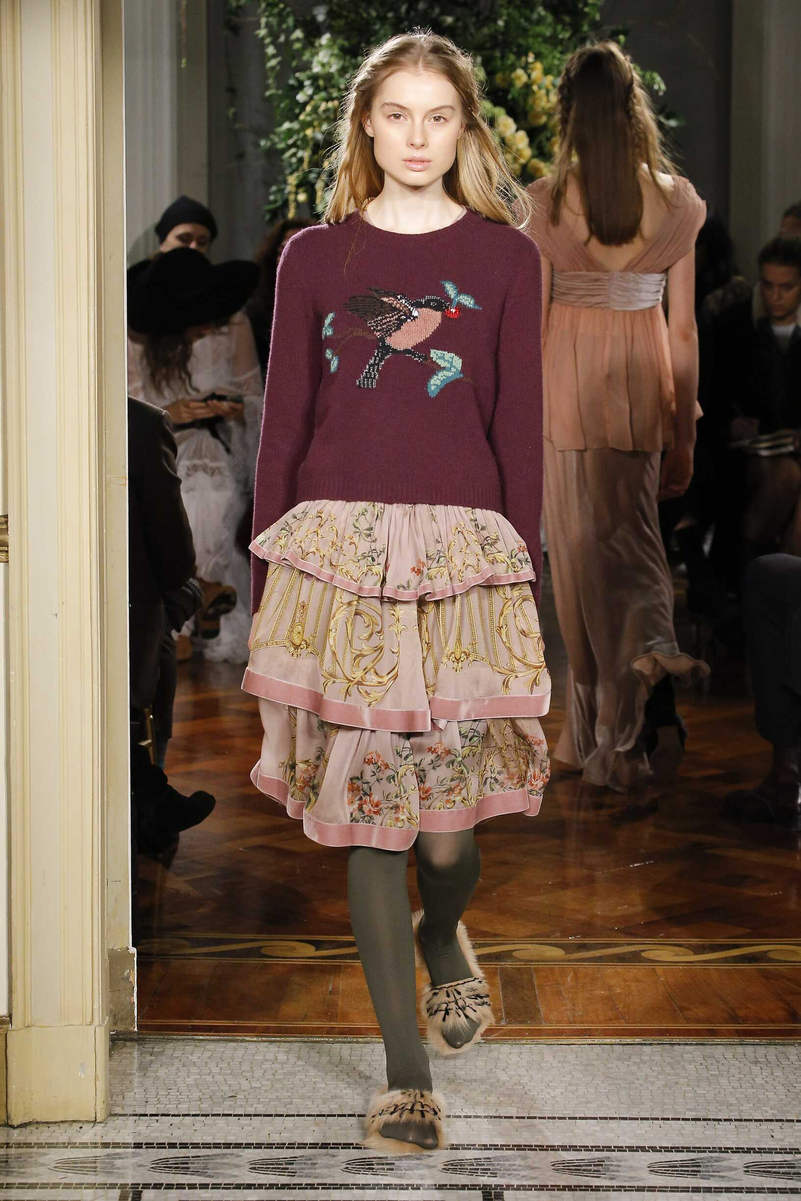 Fall 2017-18 Womenswear Alberta Ferretti