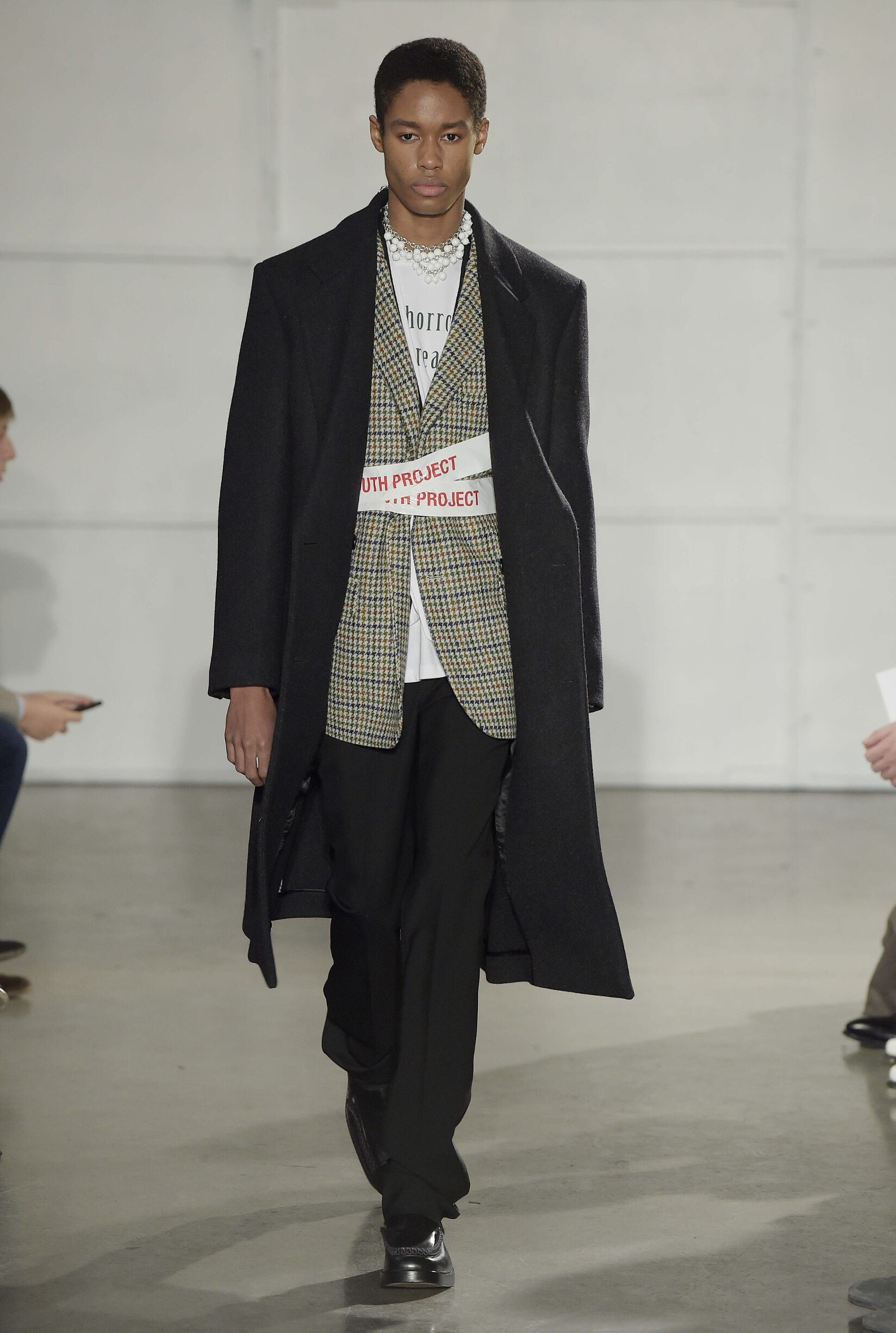 Fashion Man Model Raf Simons Catwalk