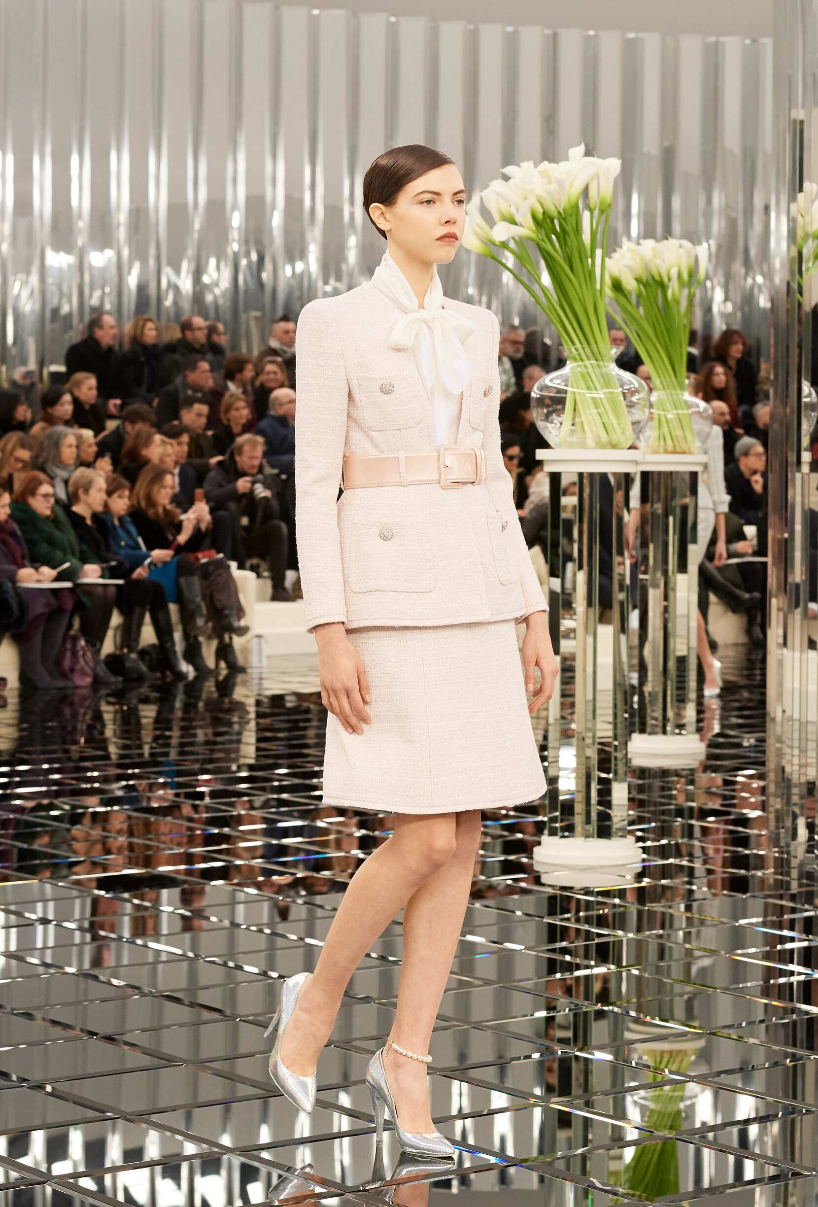 Fashion Woman Model Chanel Haute Couture Catwalk