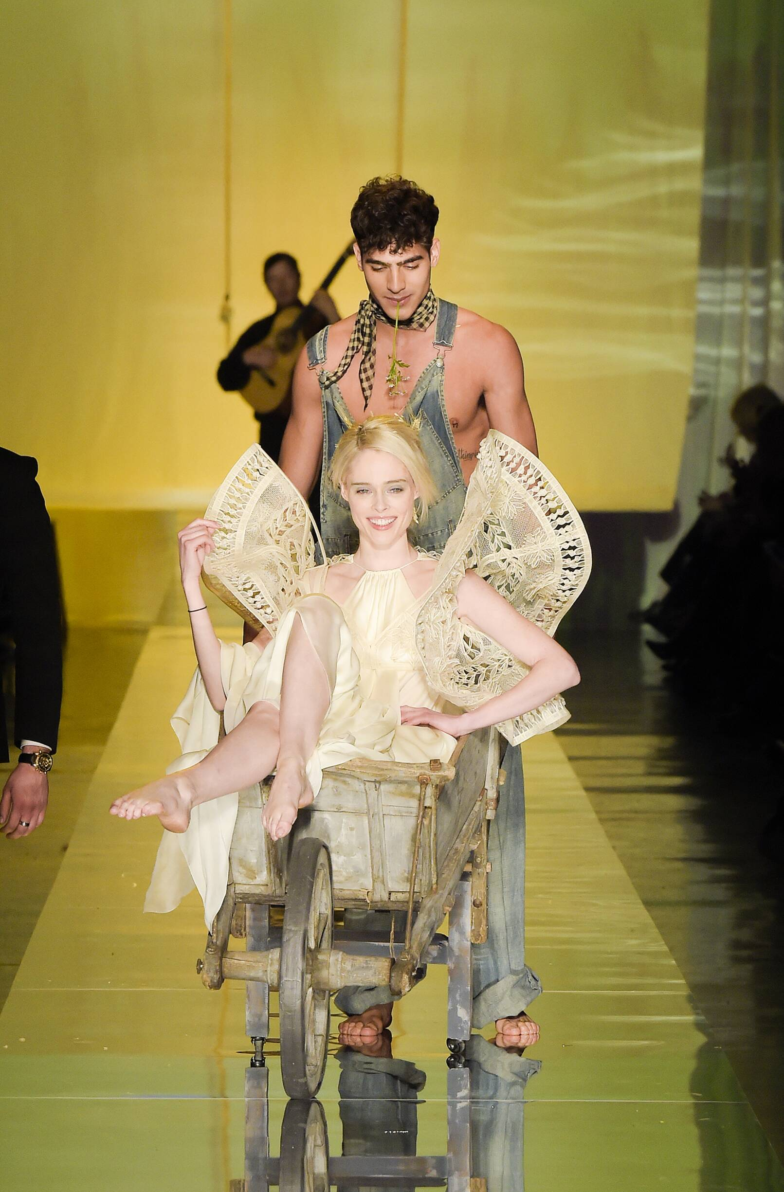 Finale Jean Paul Gaultier Haute Couture Summer Catwalk