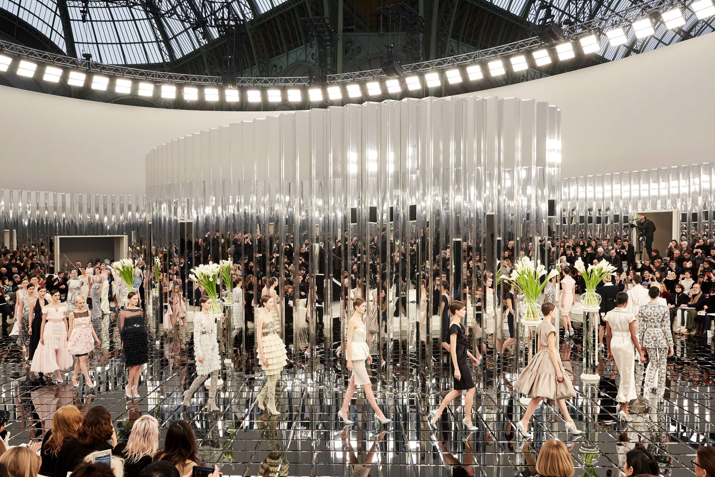 Finale Models Fashion Show Chanel Haute Couture