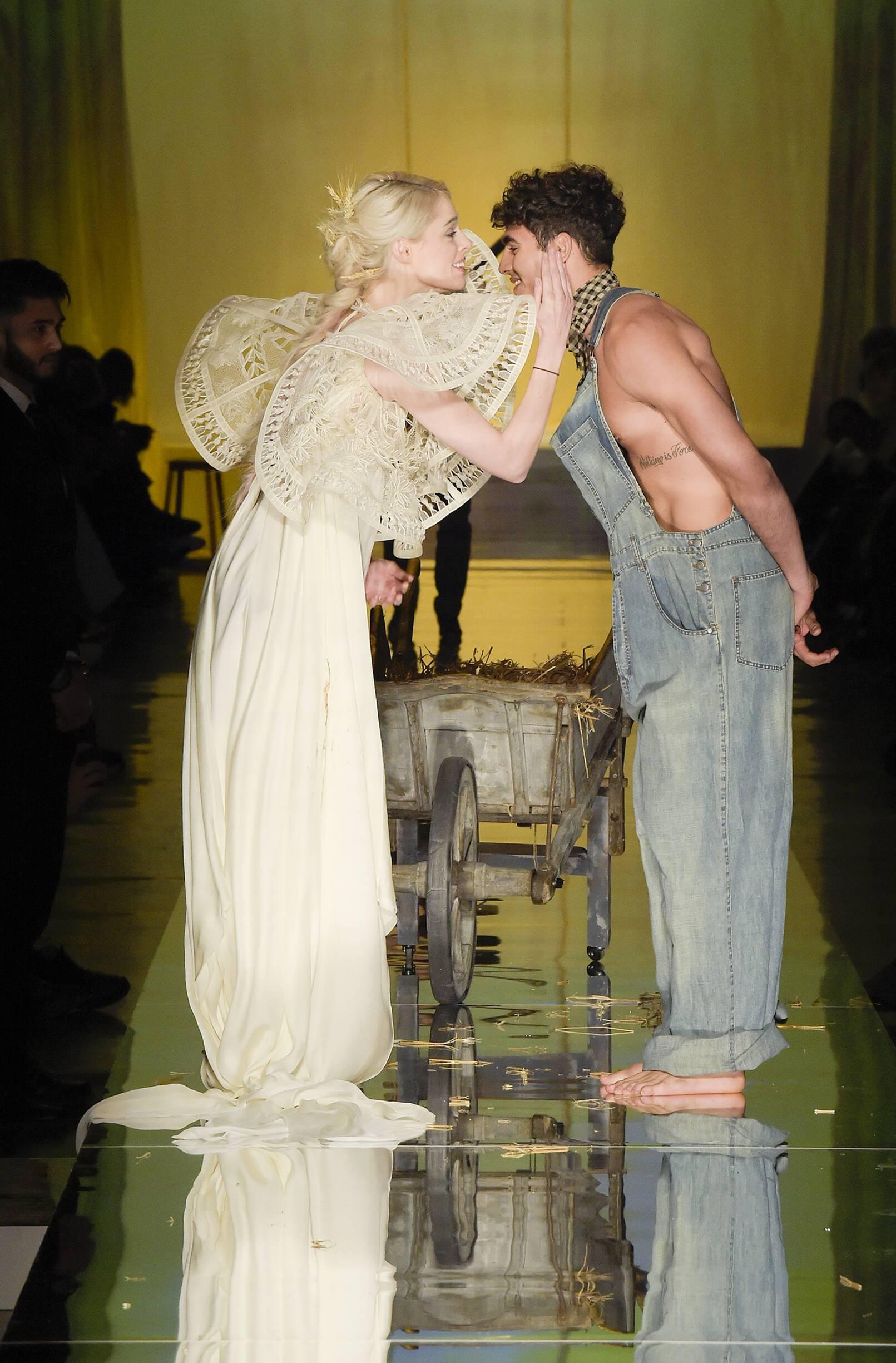 Finale Models Jean Paul Gaultier Haute Couture Catwalk