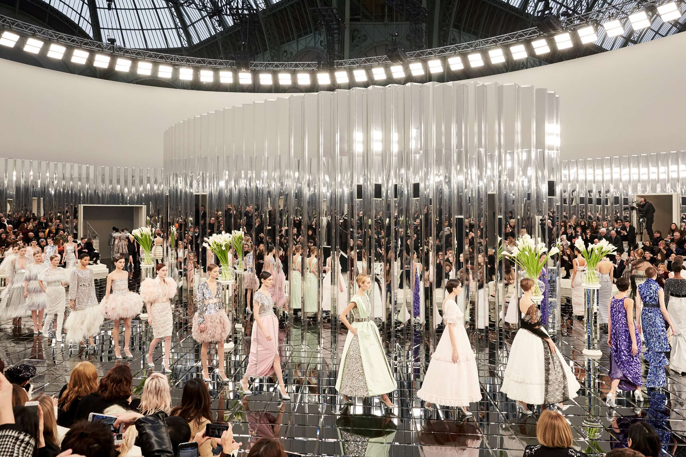 Finale Models SS 2017 Fashion Show Chanel Haute Couture