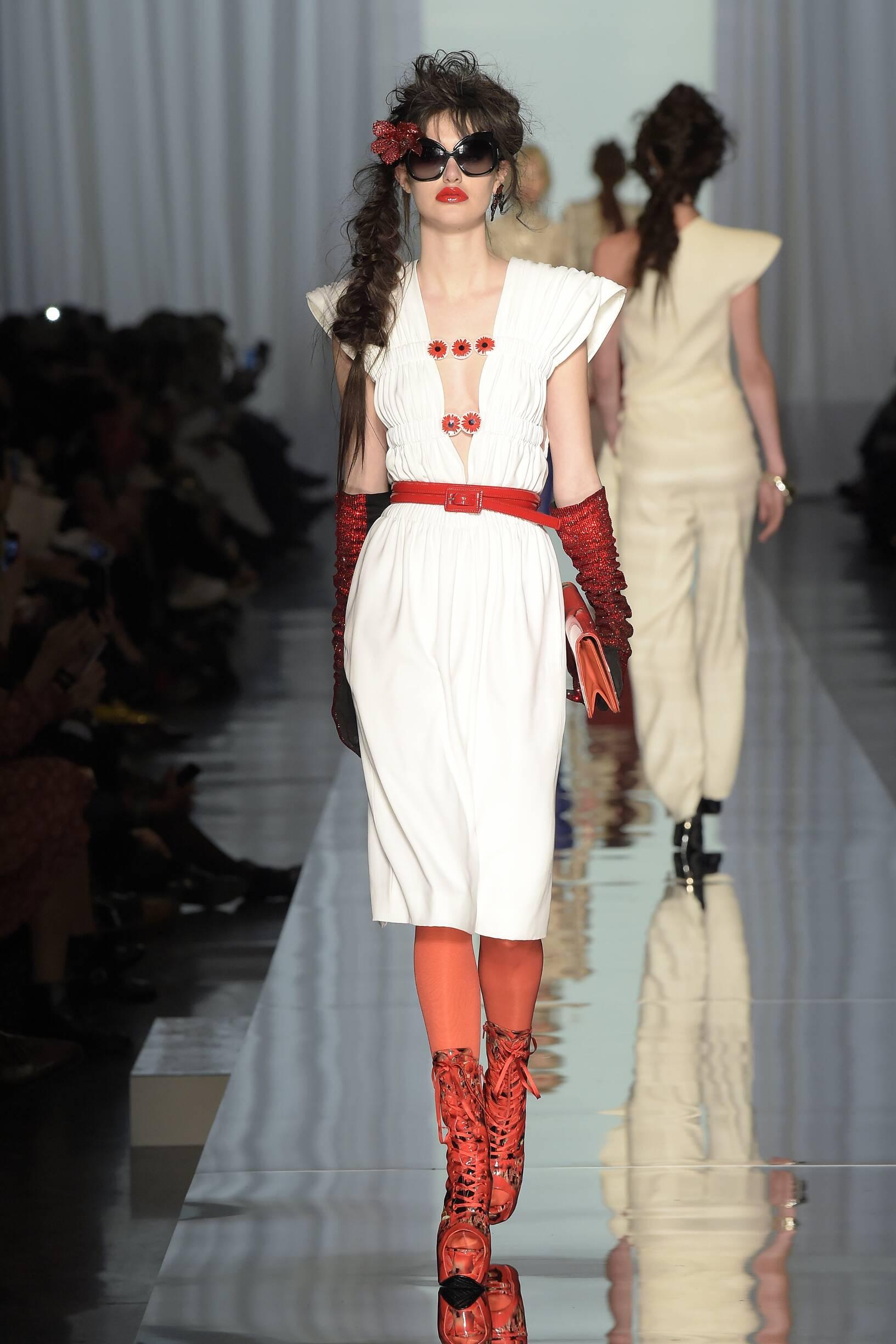 Jean Paul Gaultier Haute Couture Woman Paris Fashion Week