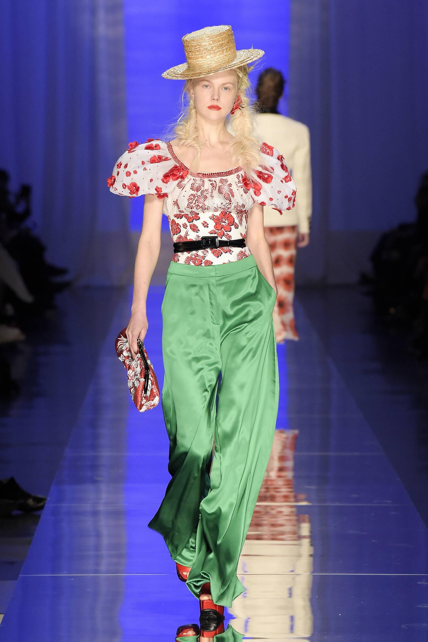 Jean Paul Gaultier Haute Couture Woman Summer 2017 Catwalk